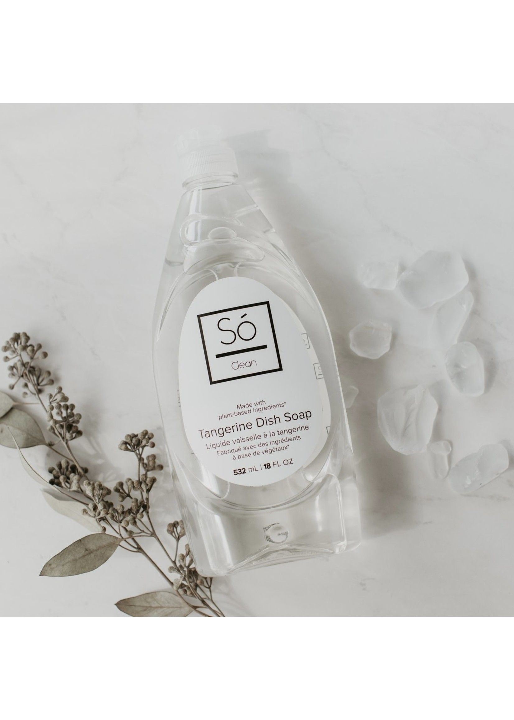 So Luxury Clean - Tangerine Dish Soap