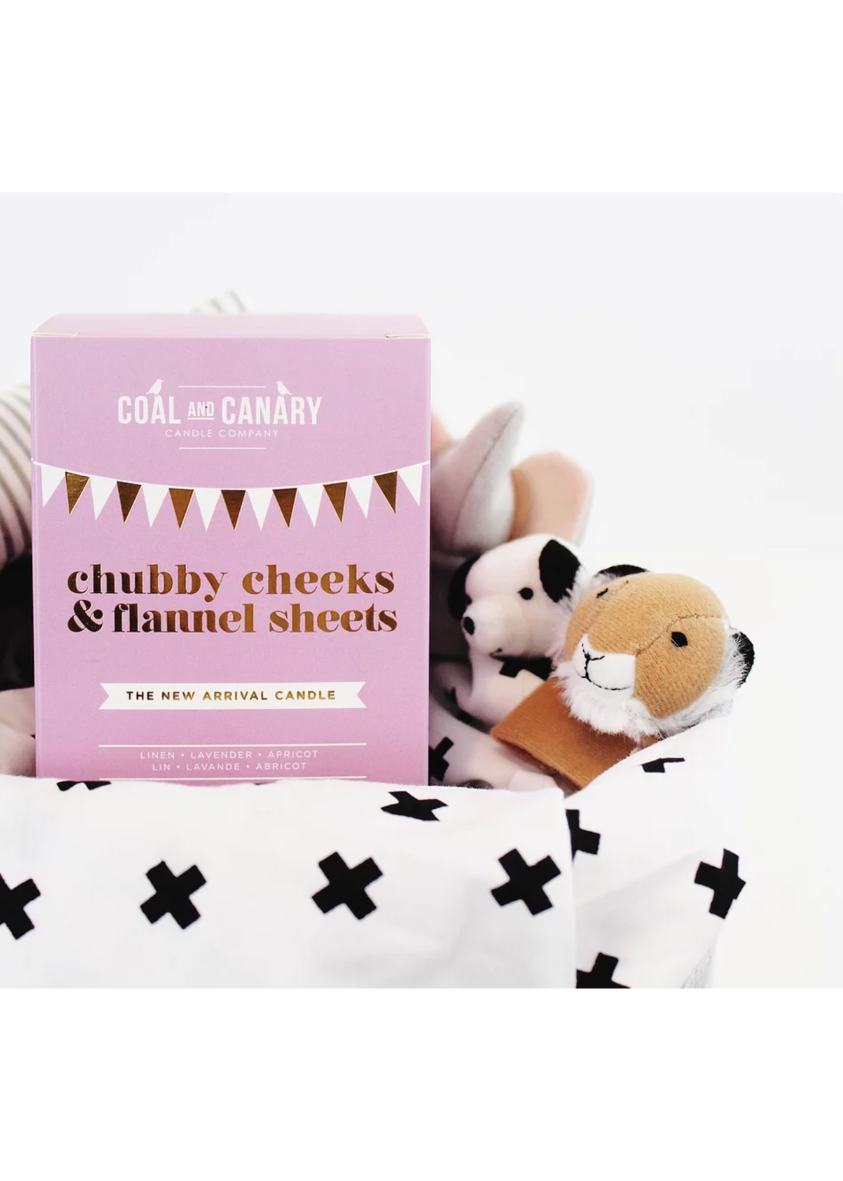 Coal and Canary Chubby Cheeks & Flannel Sheets