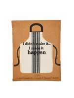 Made It happen Packaged Apron