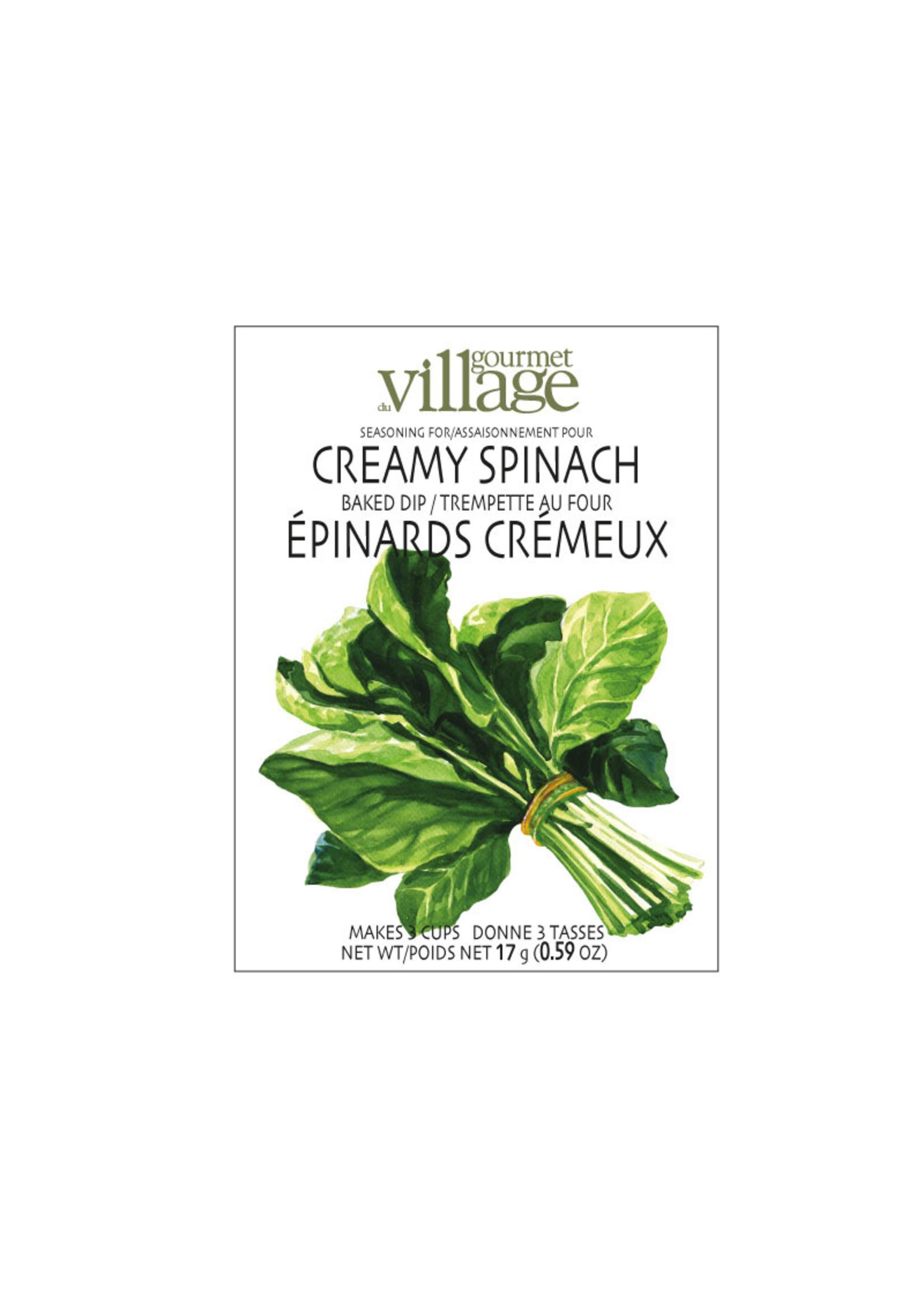 Gourmet Village Creamy Spinach Dip