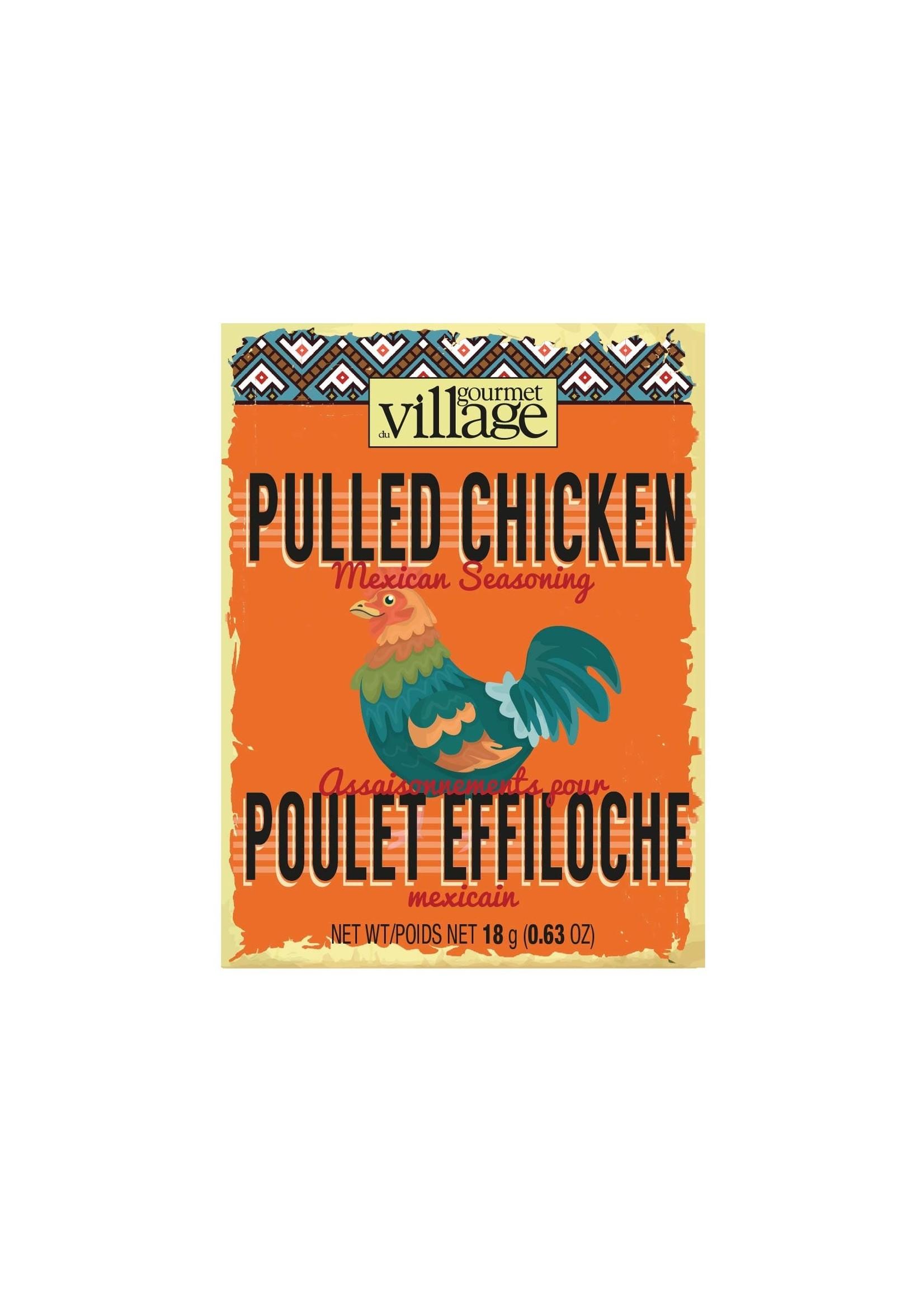 Gourmet Village Mexican Pulled Chicken Seasoning
