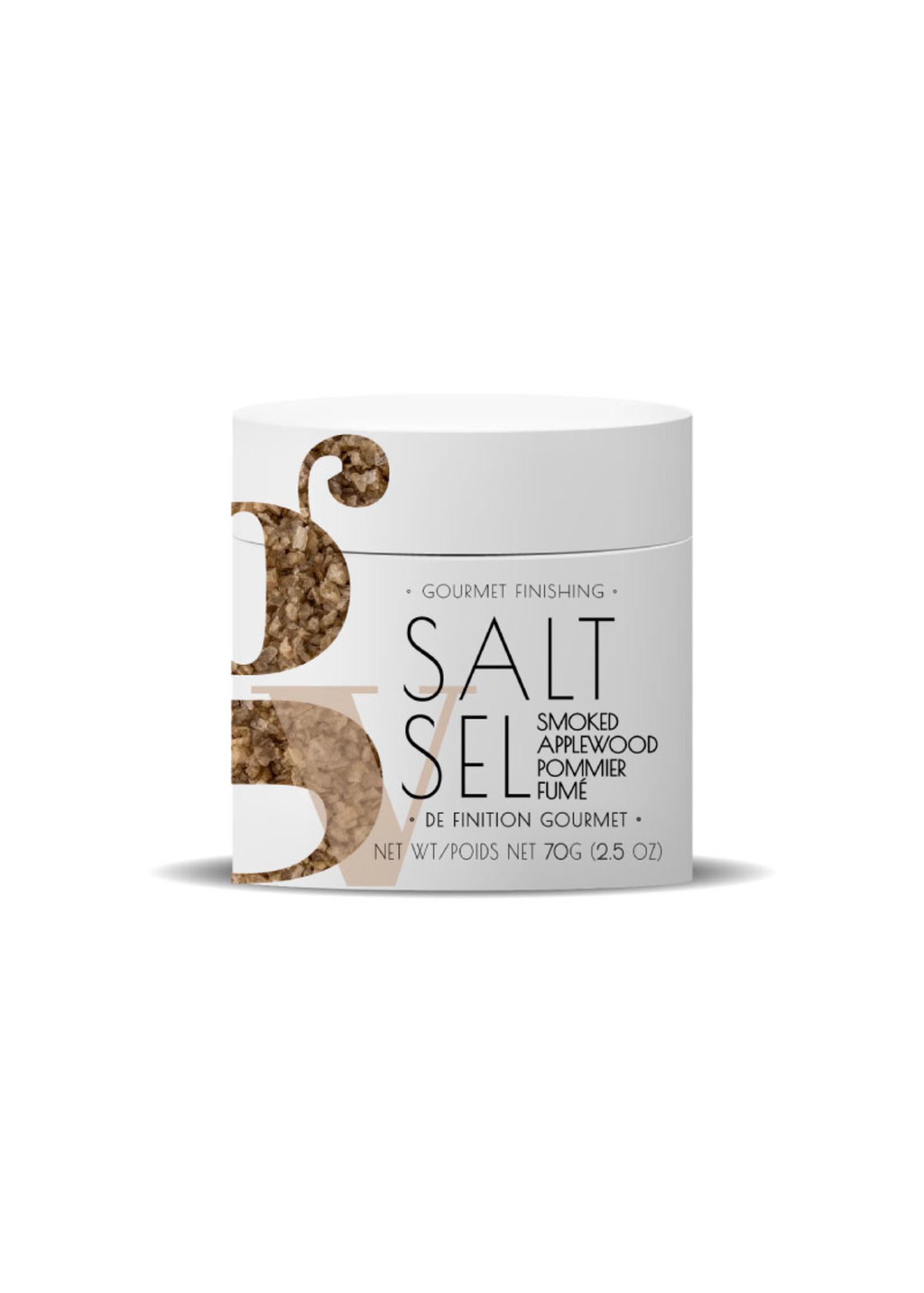 Gourmet Village Smoked Applewood Salt