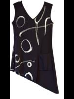 Artex Asymetrical Top w/ Pocket