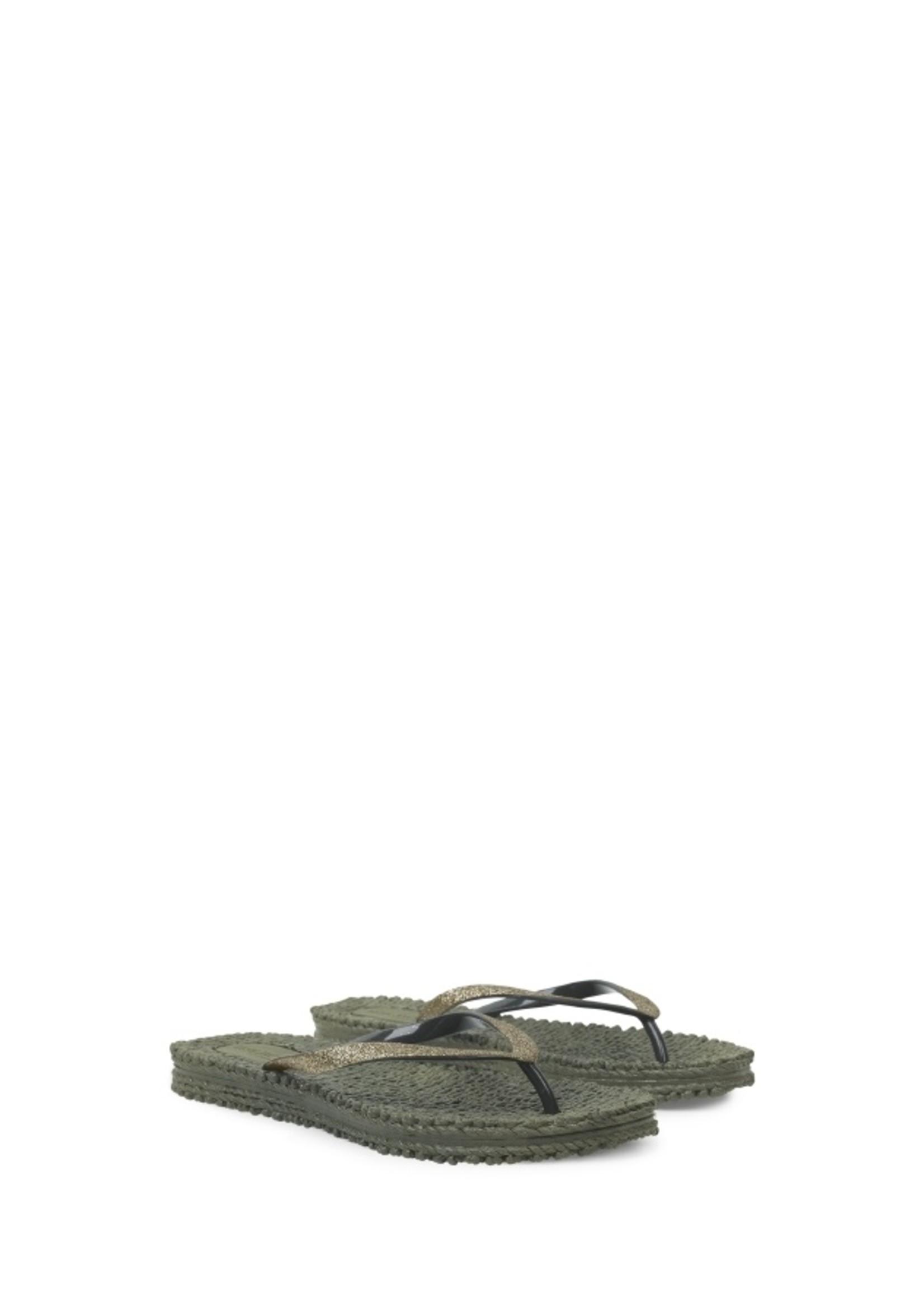 Ilse Jacobsen Cheerful Flip Flop - Army 36