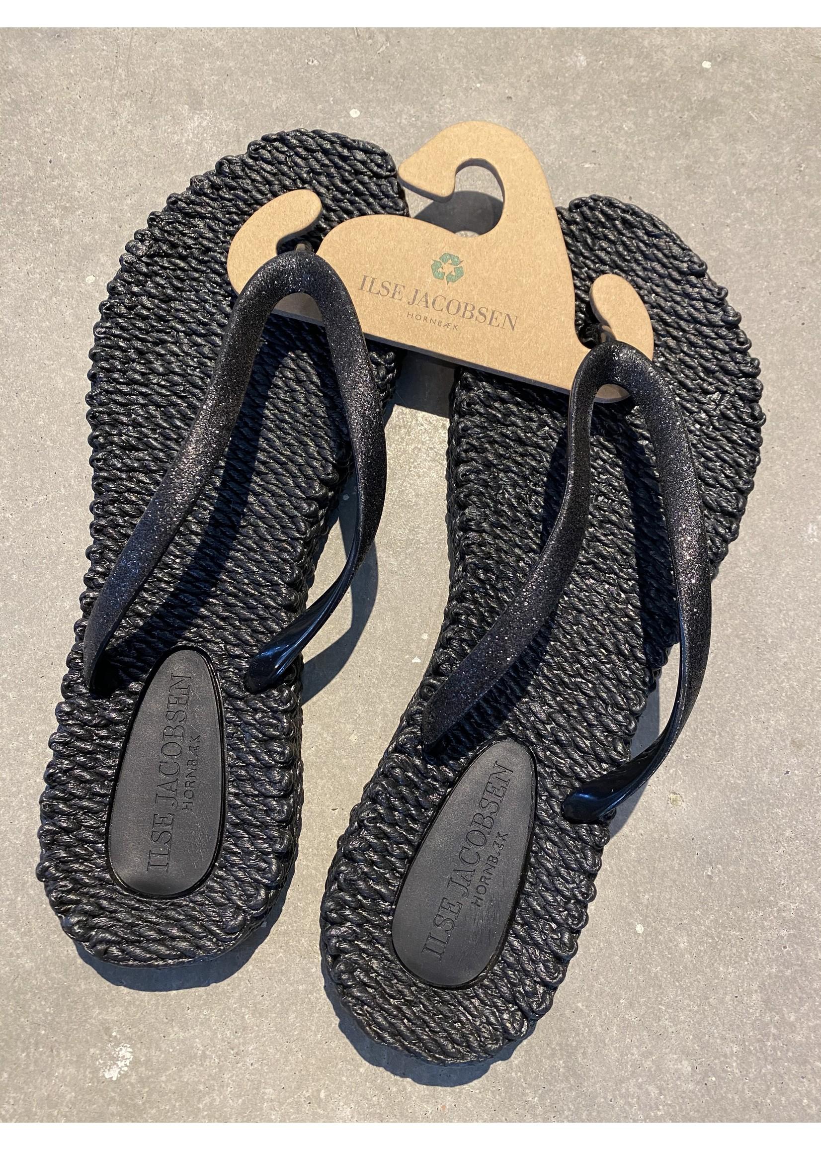 Ilse Jacobsen Cheerful Flip Flop - Black 40