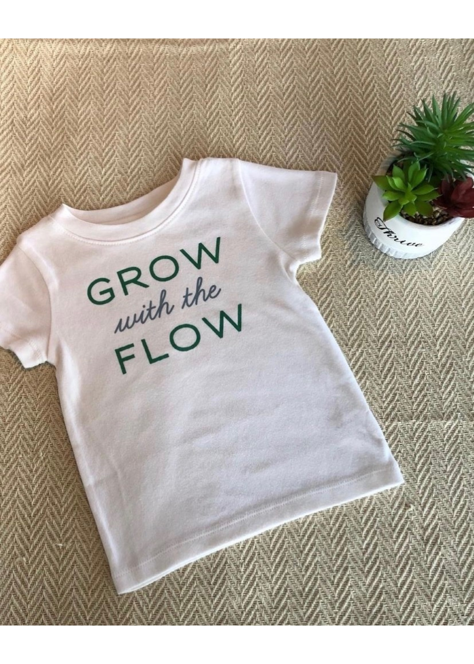 Cotton Kid's Tee with Words
