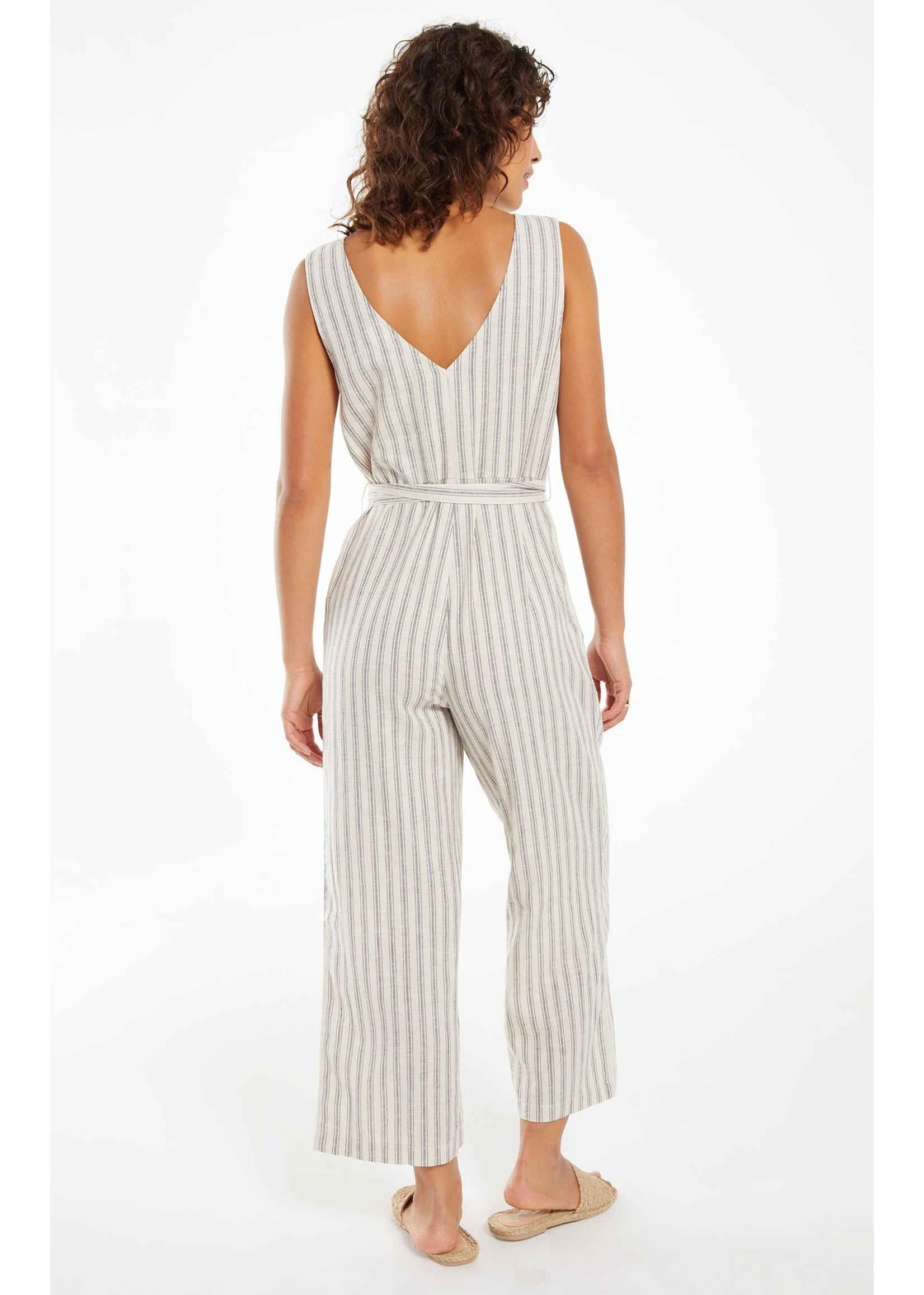 Z Supply Parade Stripe Jumpsuit