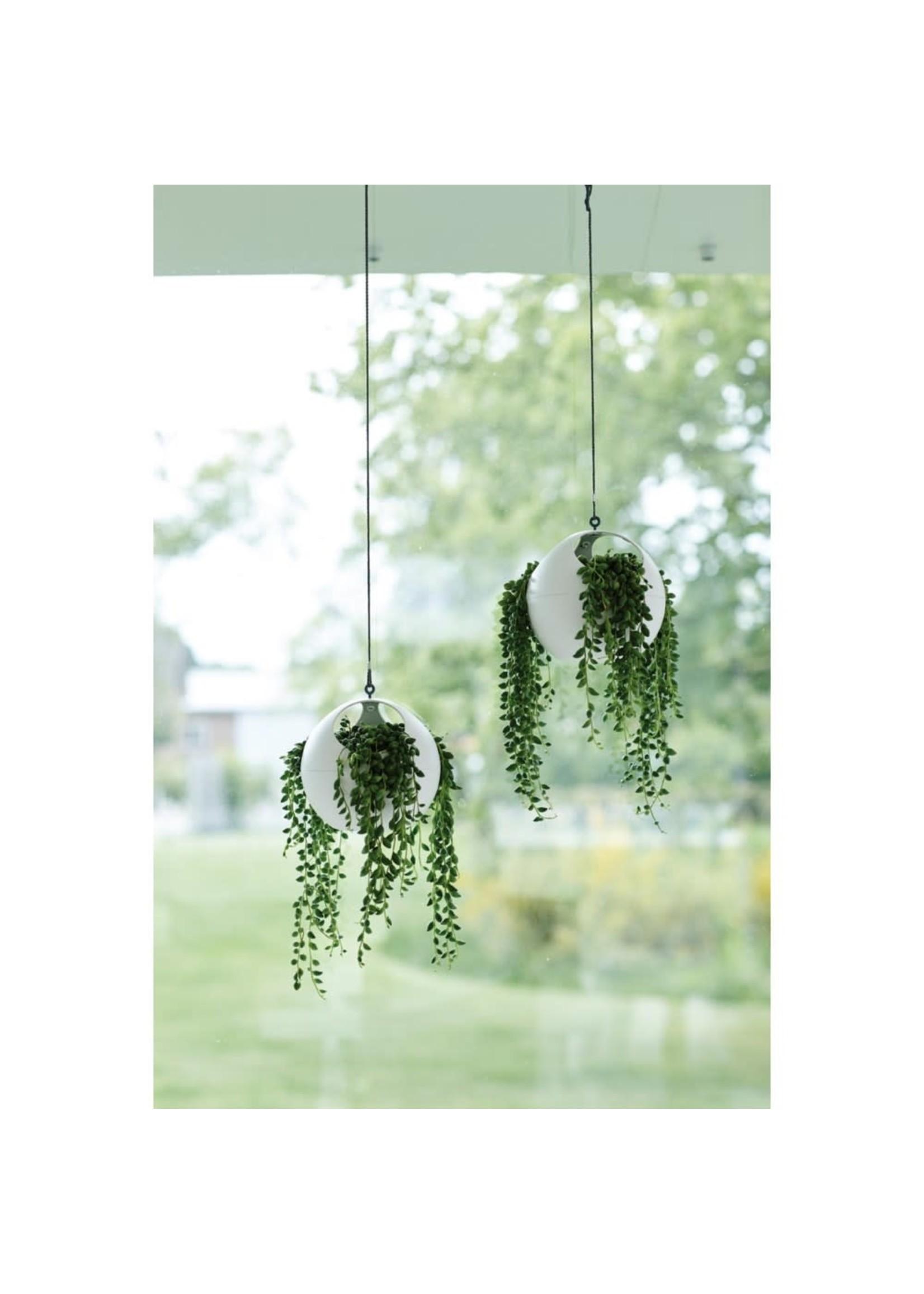 Elho Recycled plastic hanging pot White