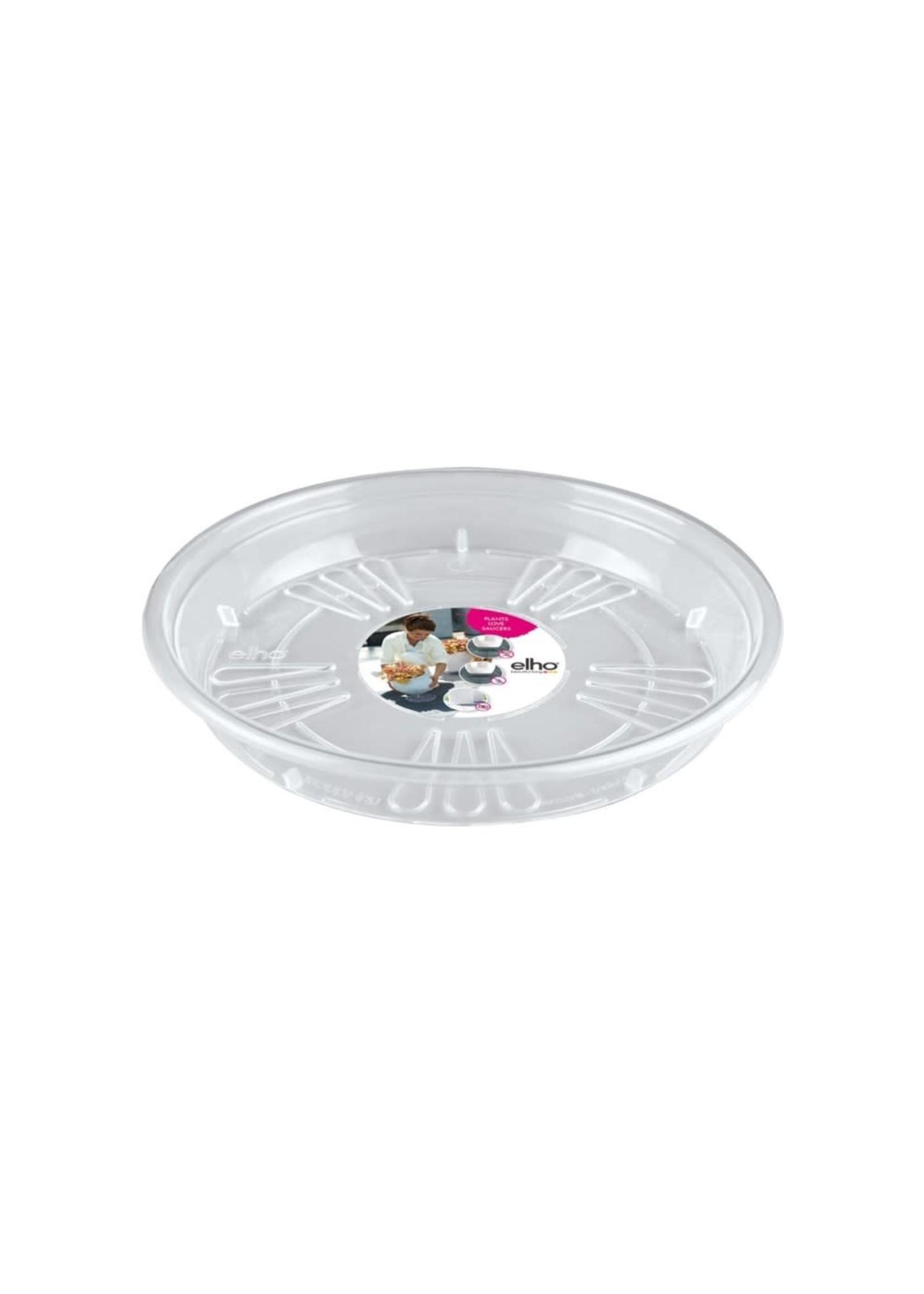 Elho Universal Saucer 18cm transparent