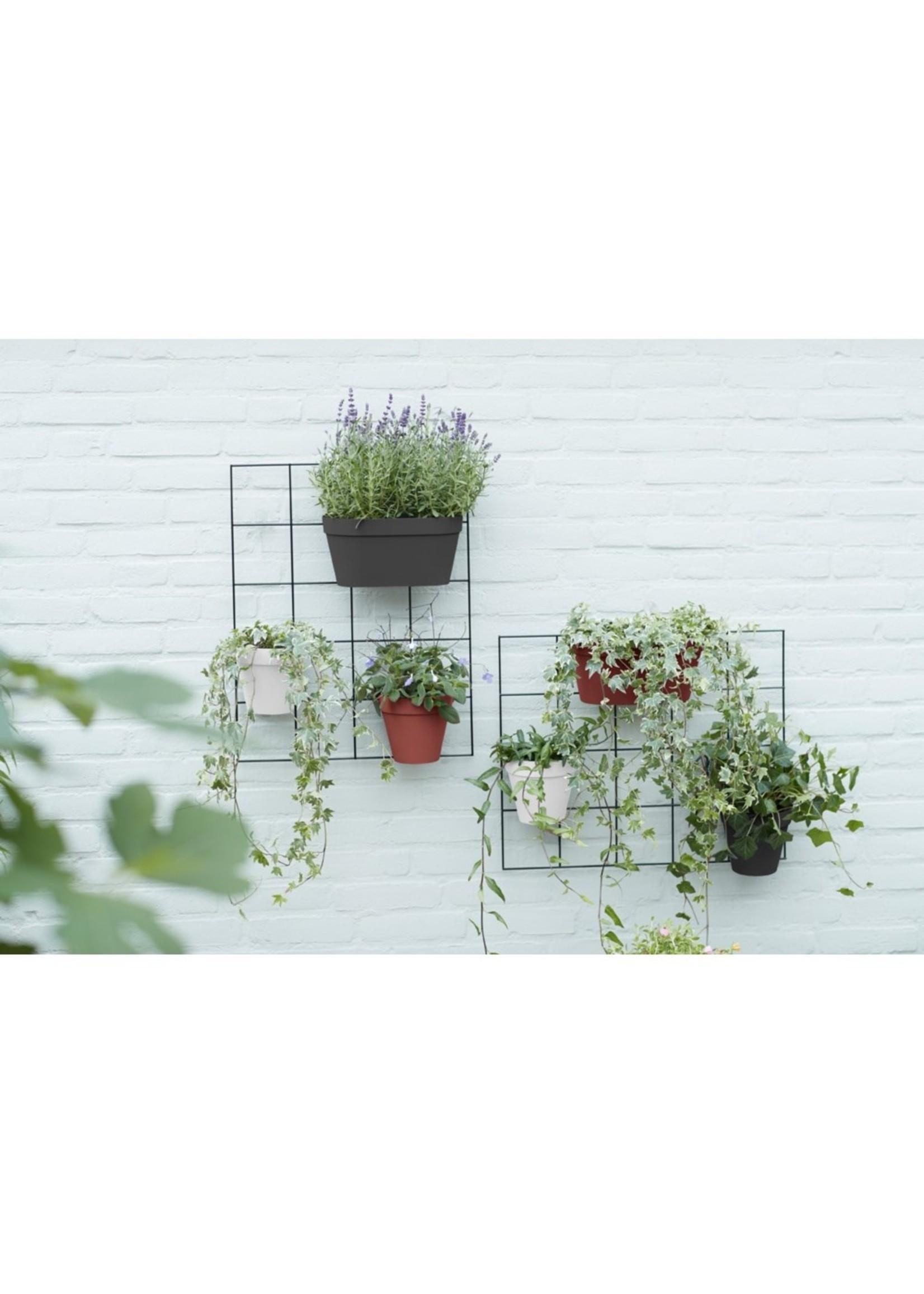 Elho Loft Urban Green Wall Duo planter - 28cm Grey