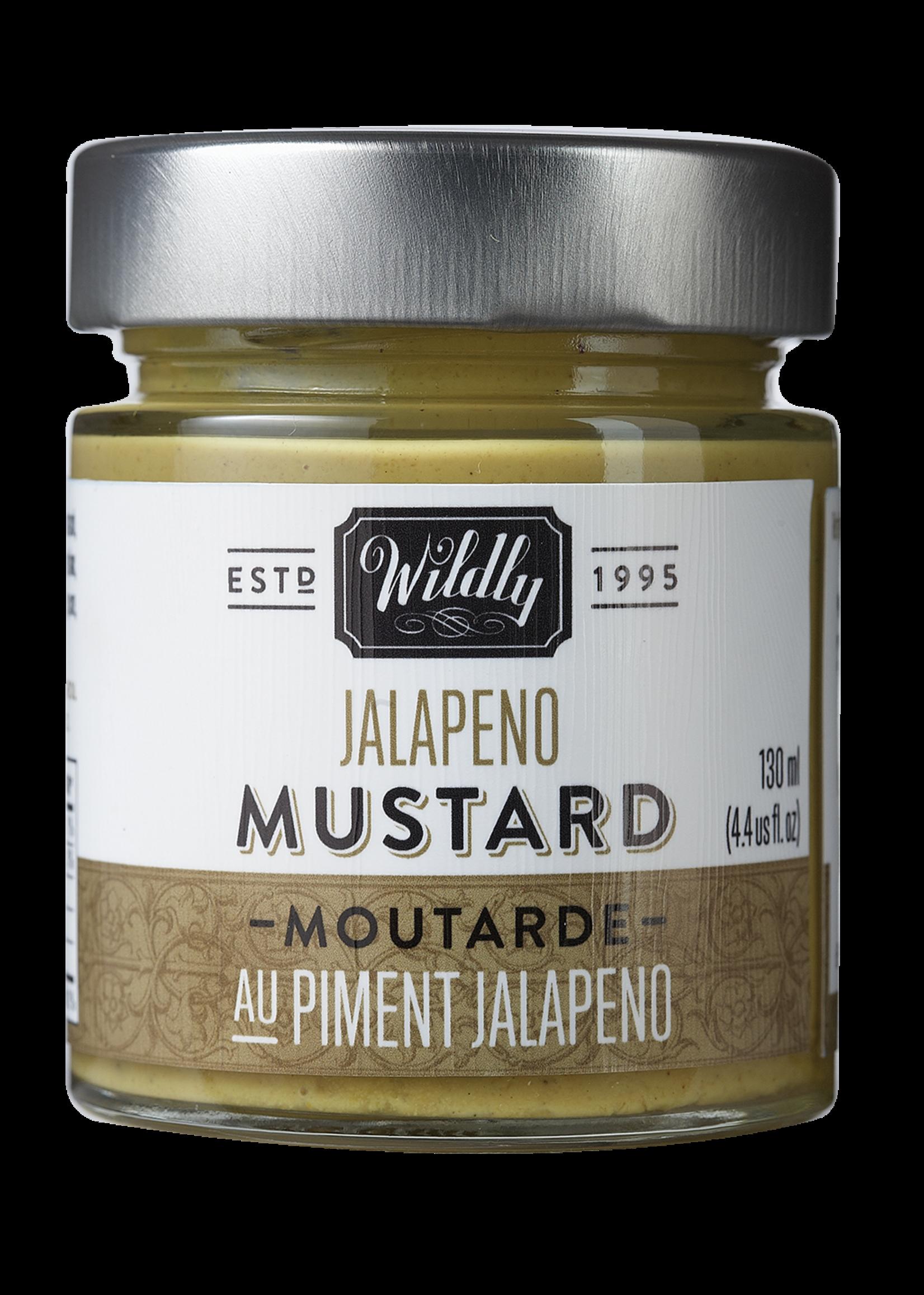 Wildly Delicious Jalepeno Mustard