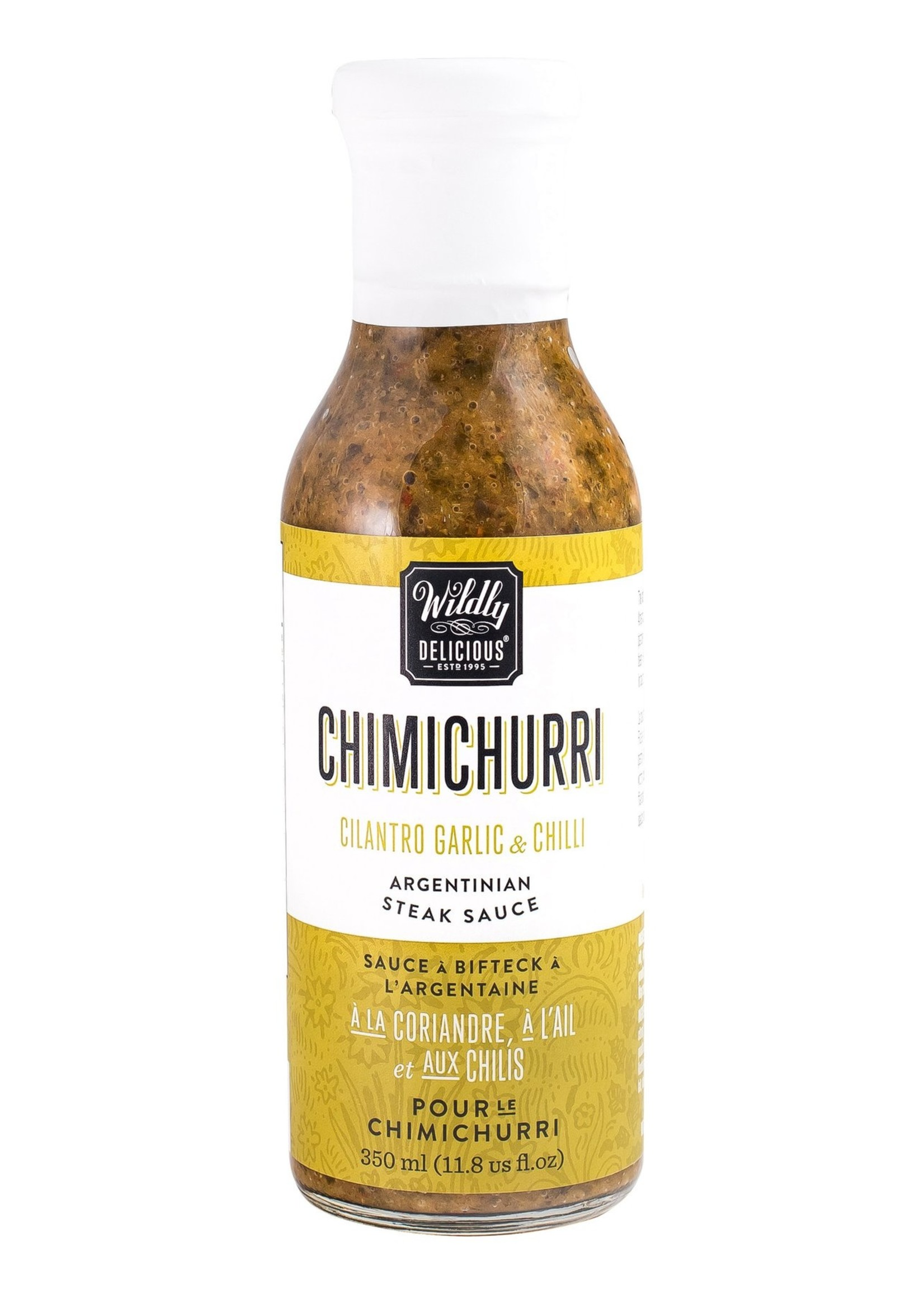 Wildly Delicious Chimichurri - Argentinian Steak Sauce