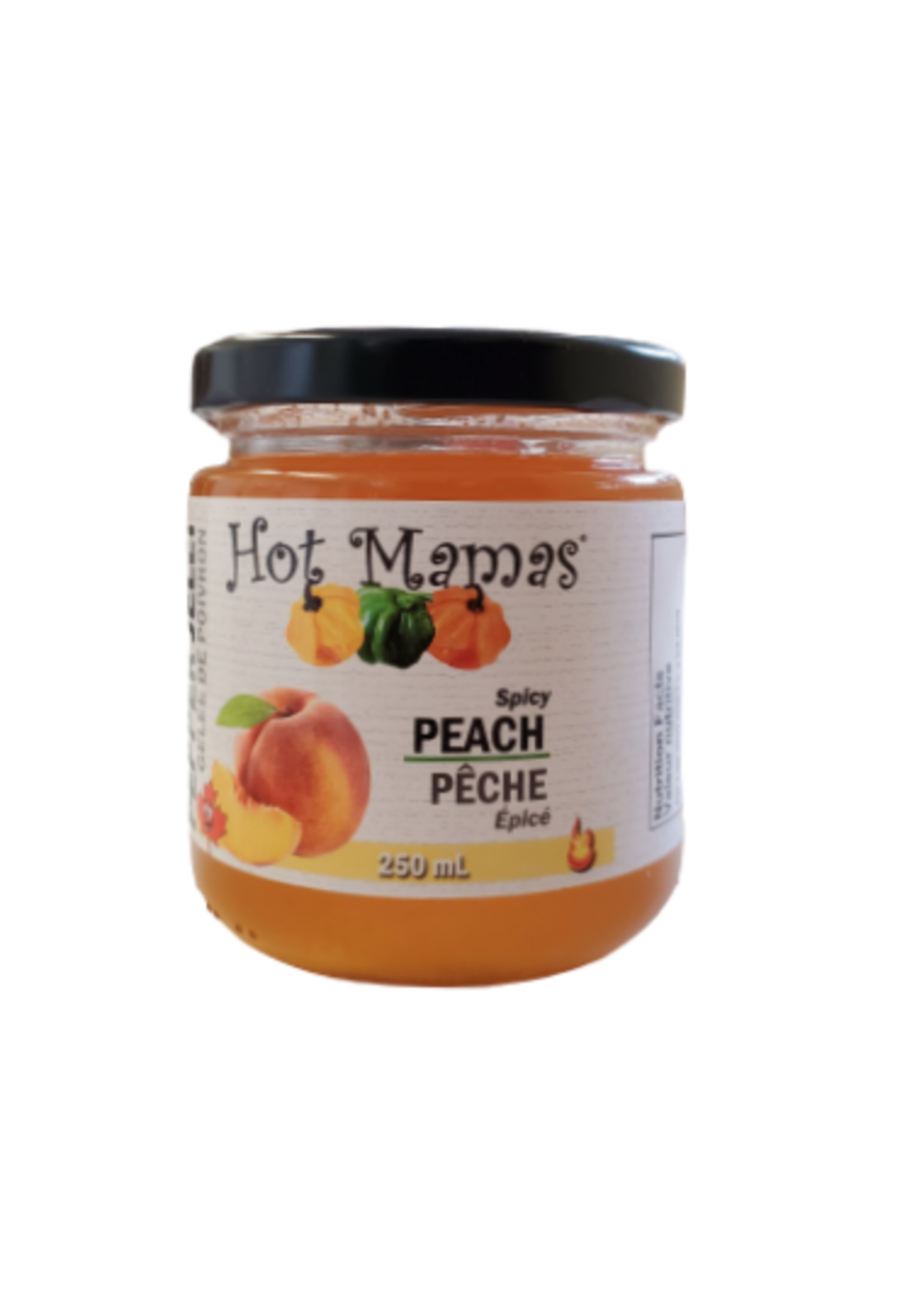 Hot Mamas Peach Pepper Jelly 250ml