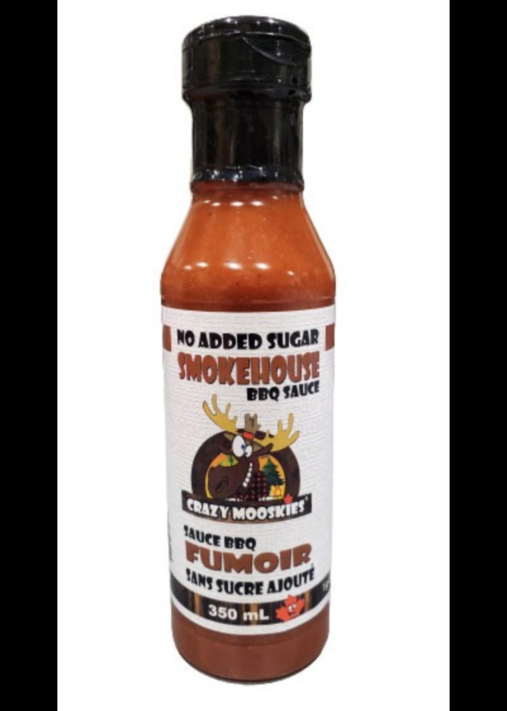 Hot Mamas Crazy Mooskies Smokehouse BBQ Sauce 350ml
