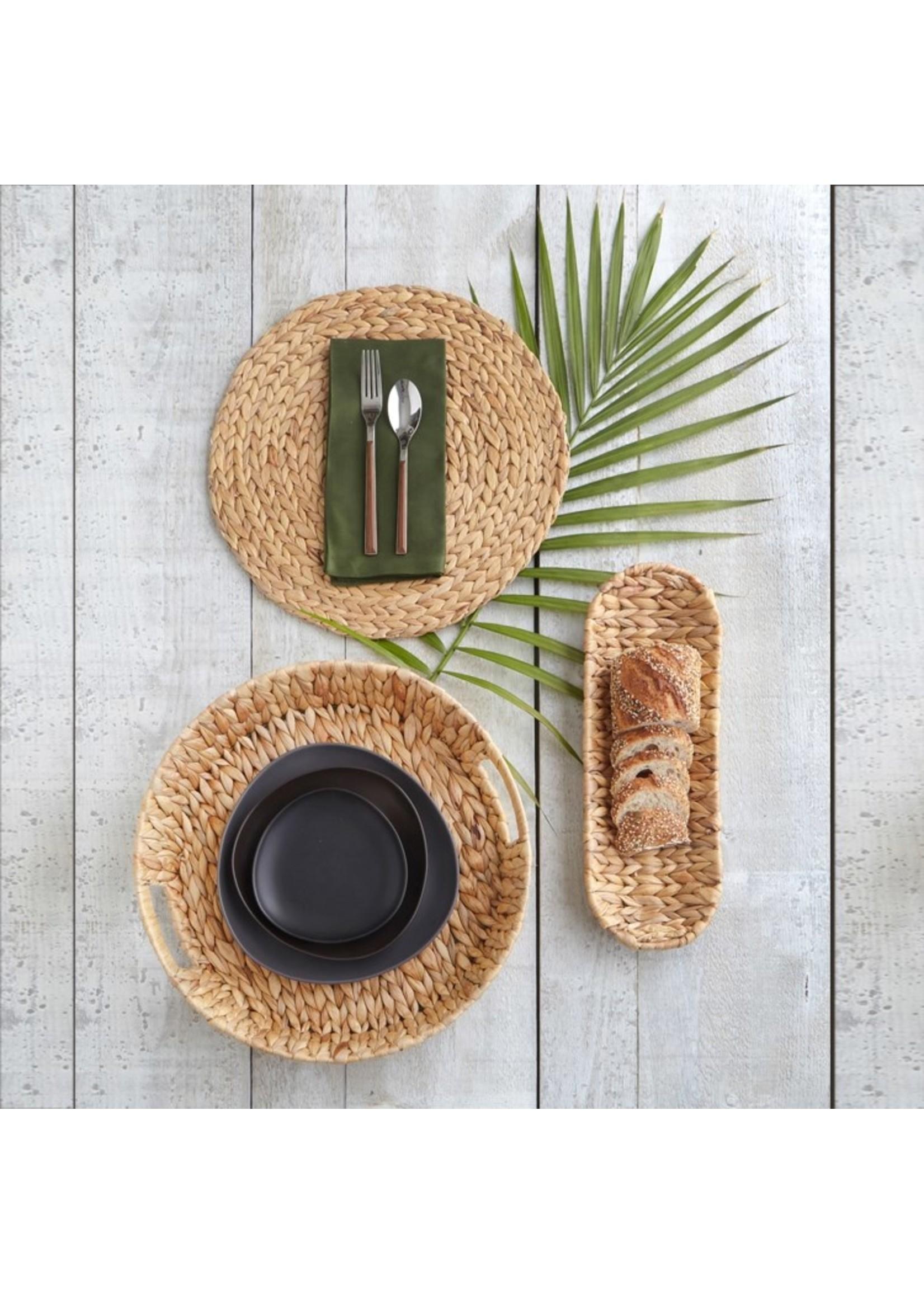 Palma Round Woven Tray - Small