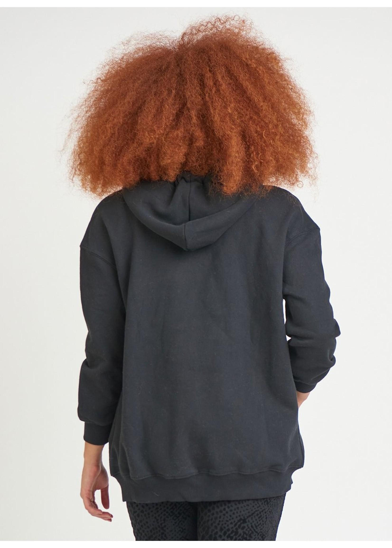 Dex Long Sleeve Zip Front Hoodie