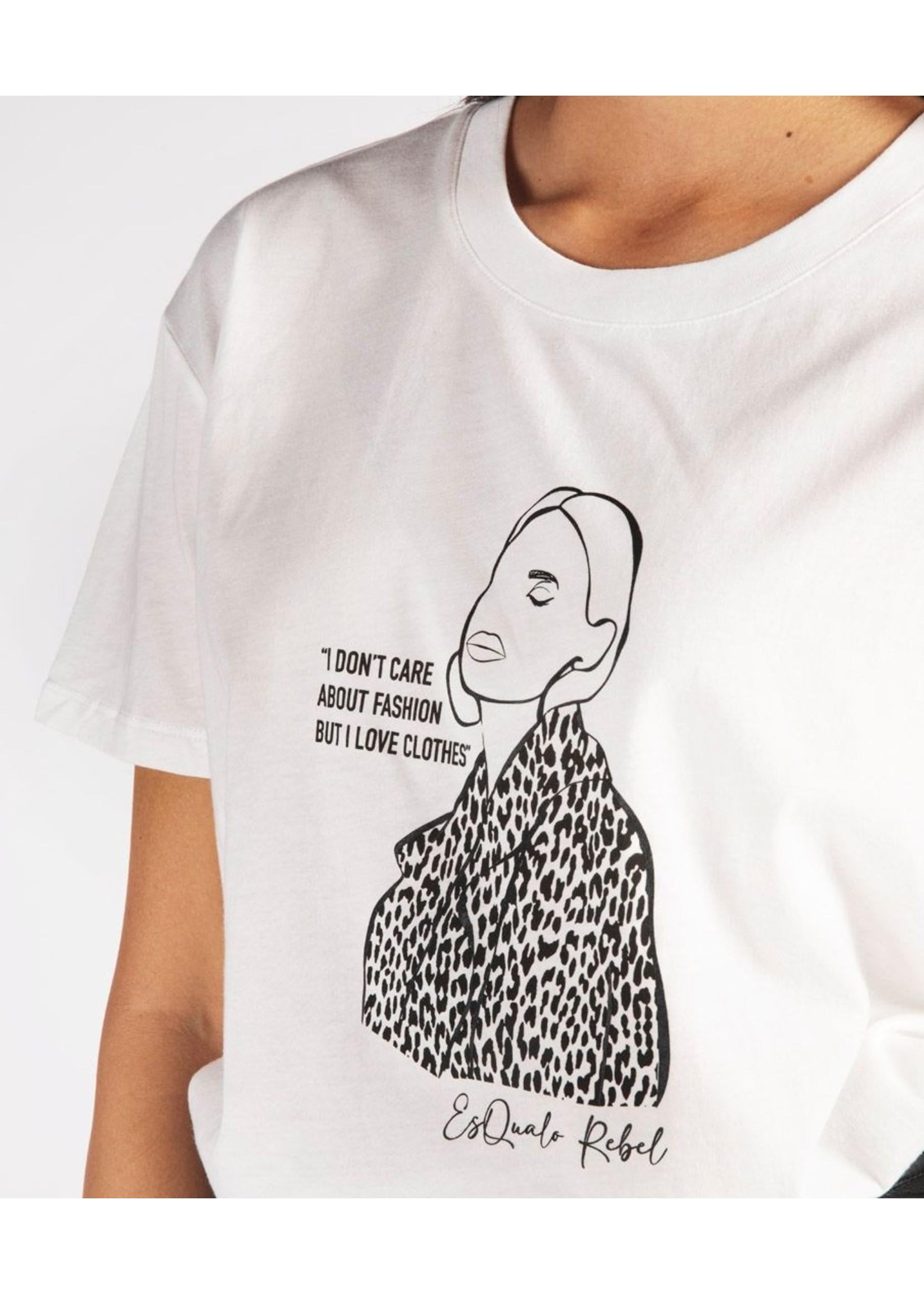 Esqualo Leopard Girl T-Shirt