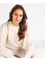 Esqualo Gathered Sleeve Sweater