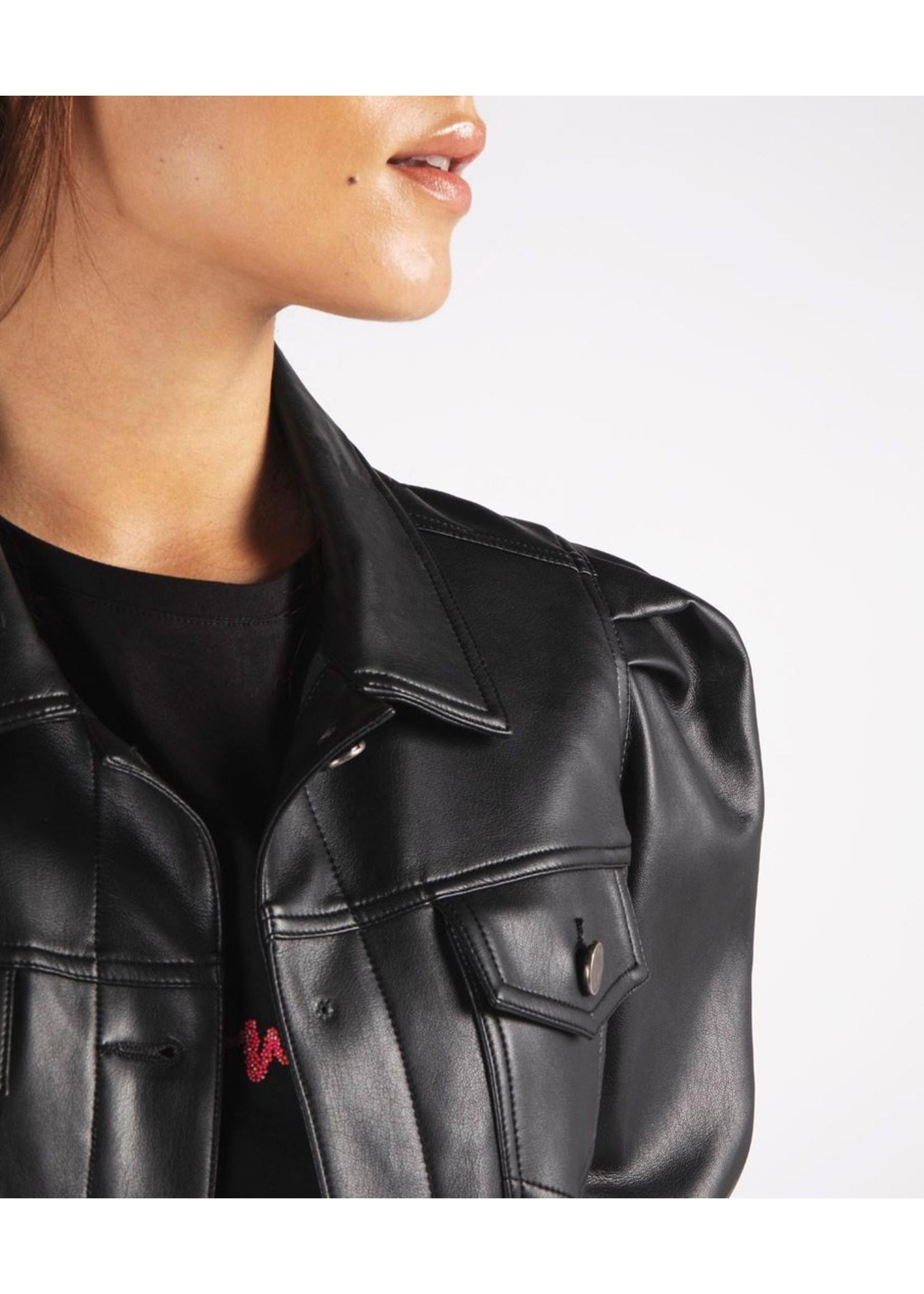 Esqualo Puff Sleeve Jacket