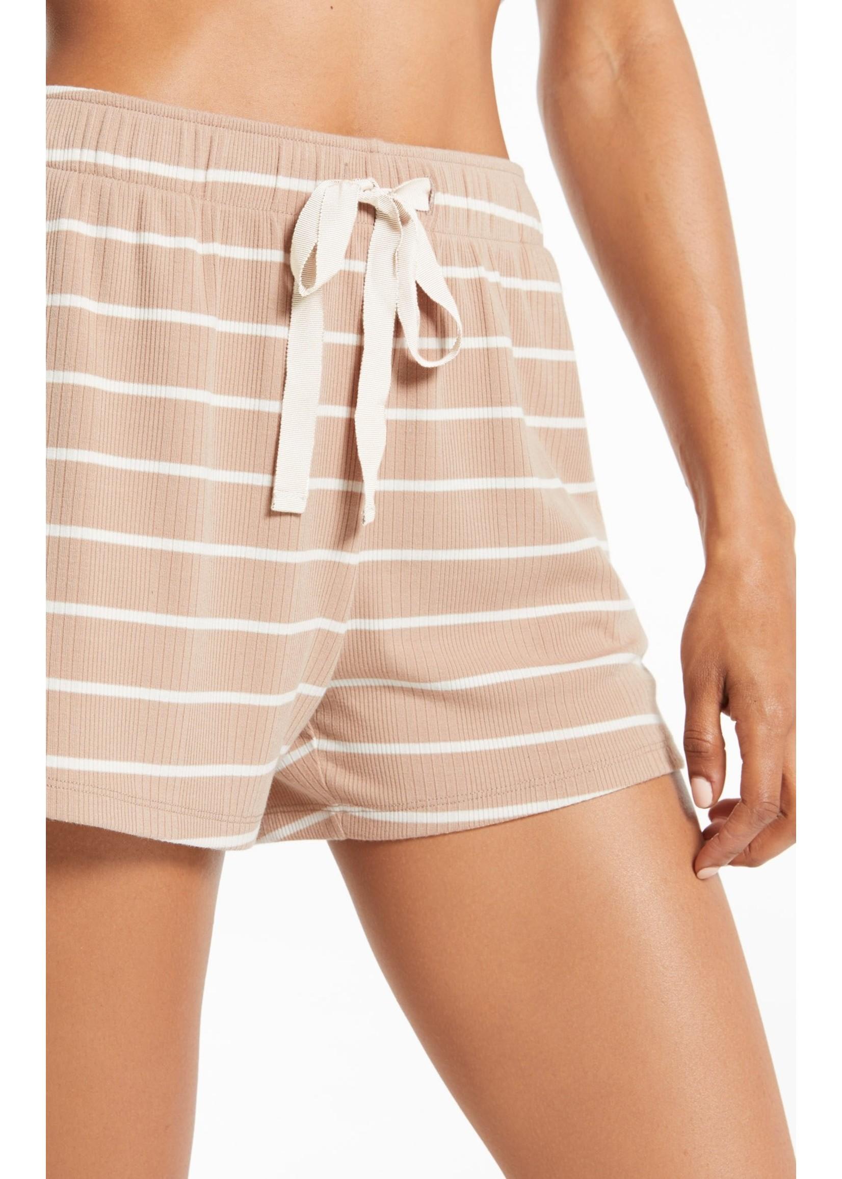 Z Supply Snooze Stripe Short