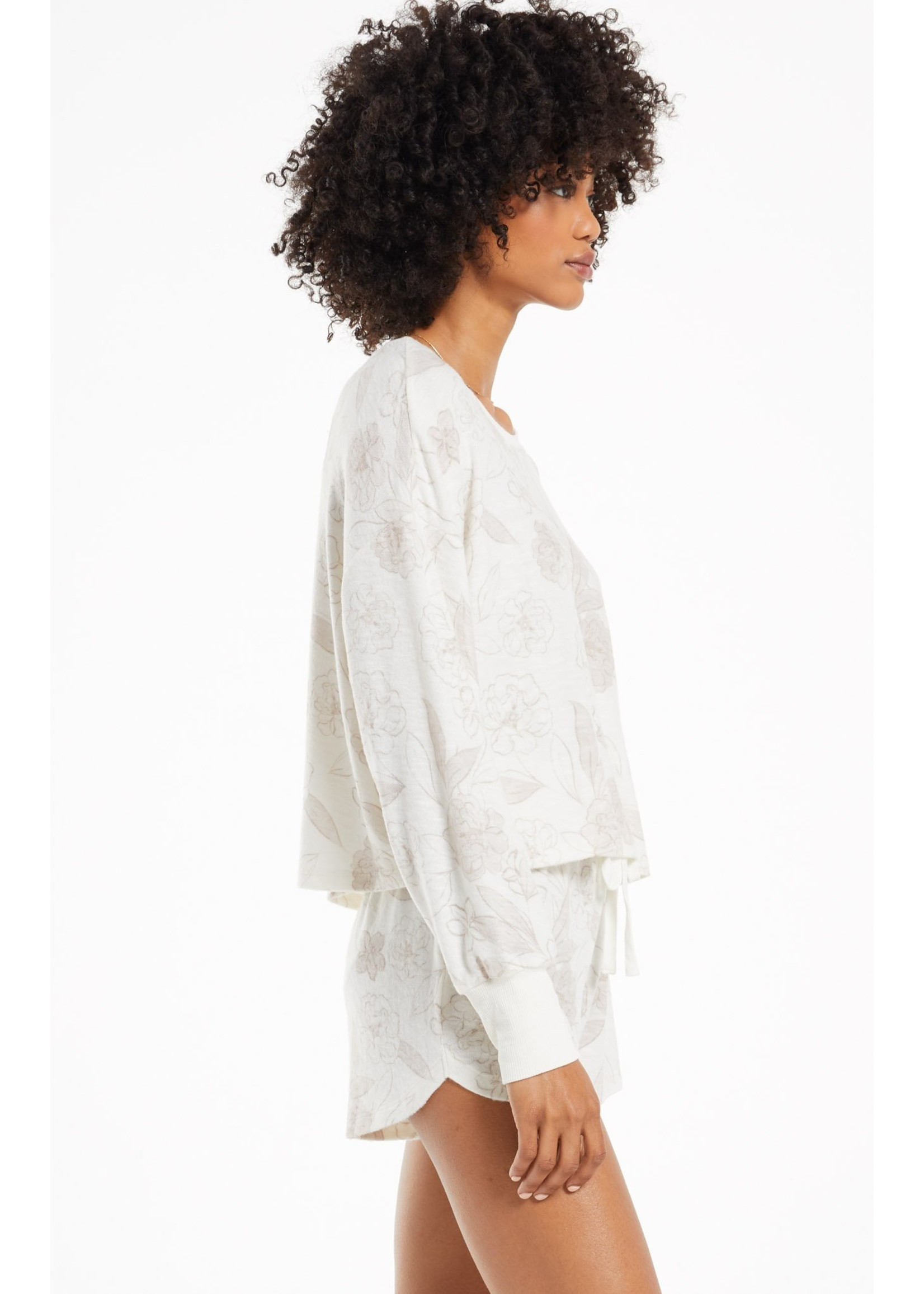 Z Supply Lina Floral Long Sleeve