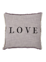 """Love Square Pillow - 26"""""""