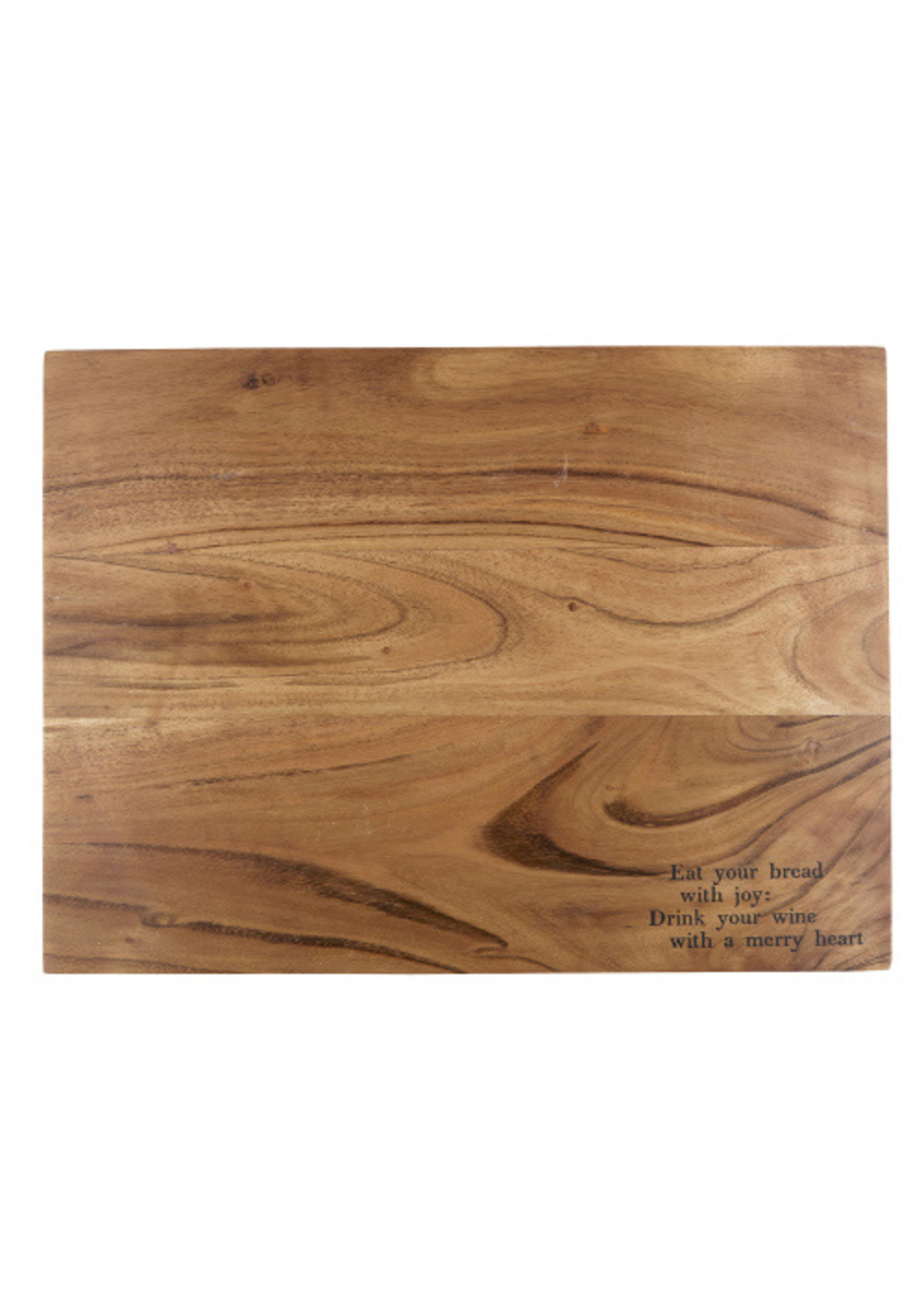 Wood Serving Tray - Eat Bread