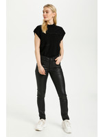 Cream Annelene Pants Shape Fit