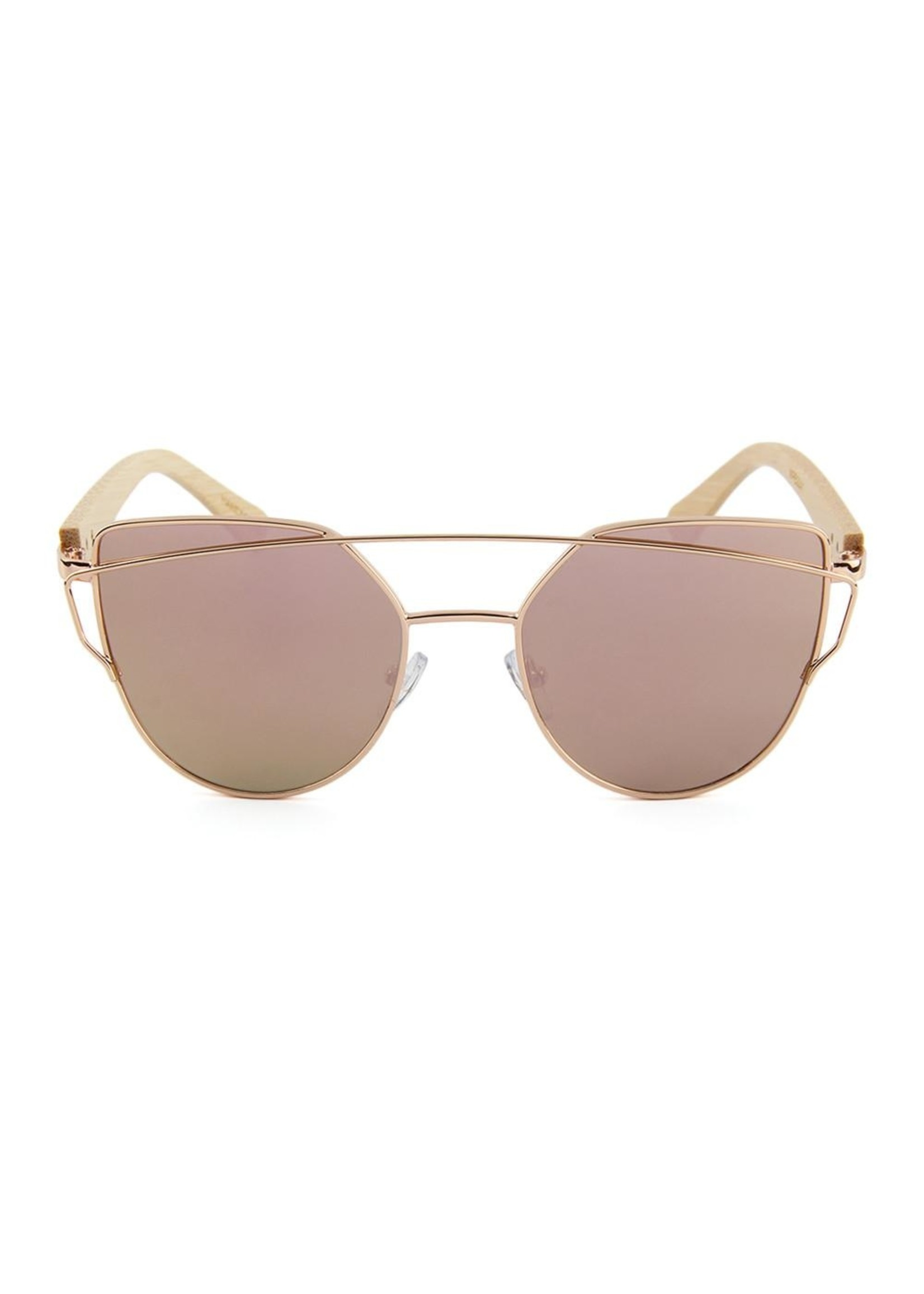 Kuma Sunglasses Olive - Rose Gold