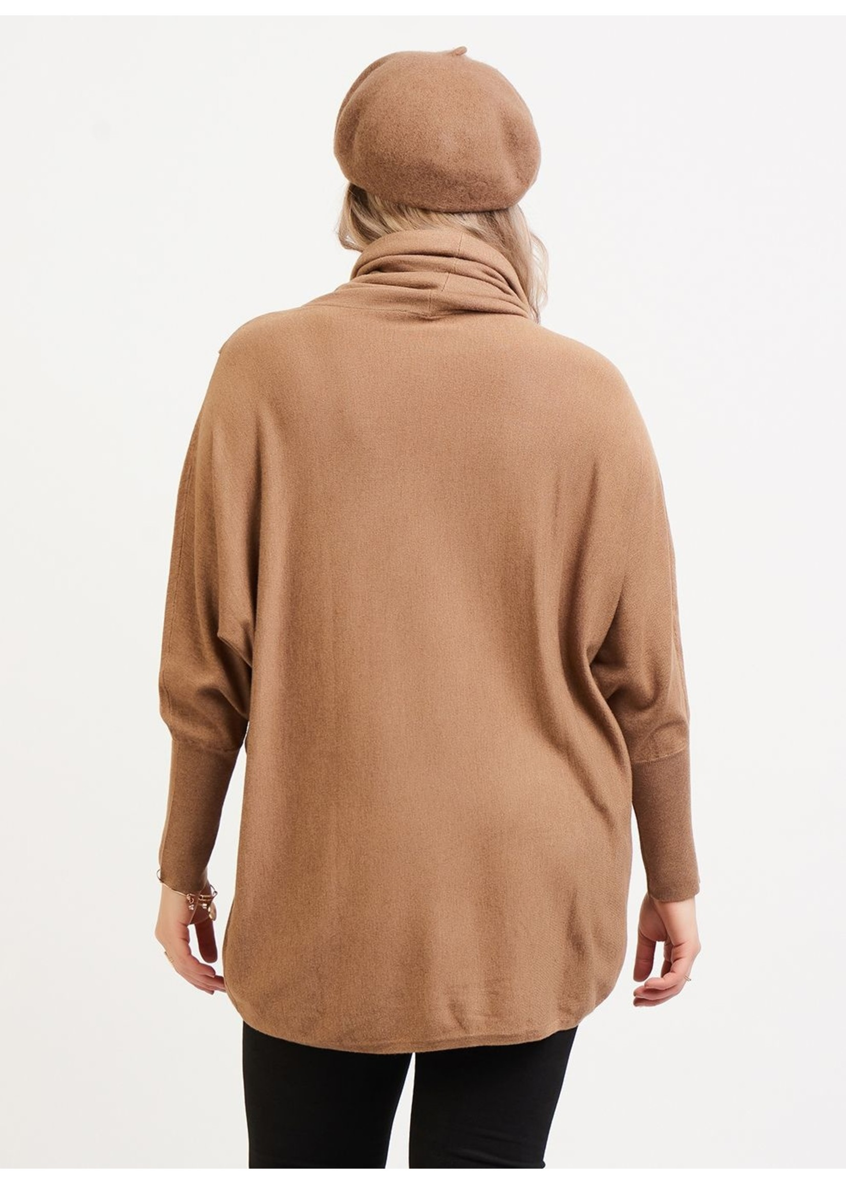 Dex Drape Collar Crossover Tunic