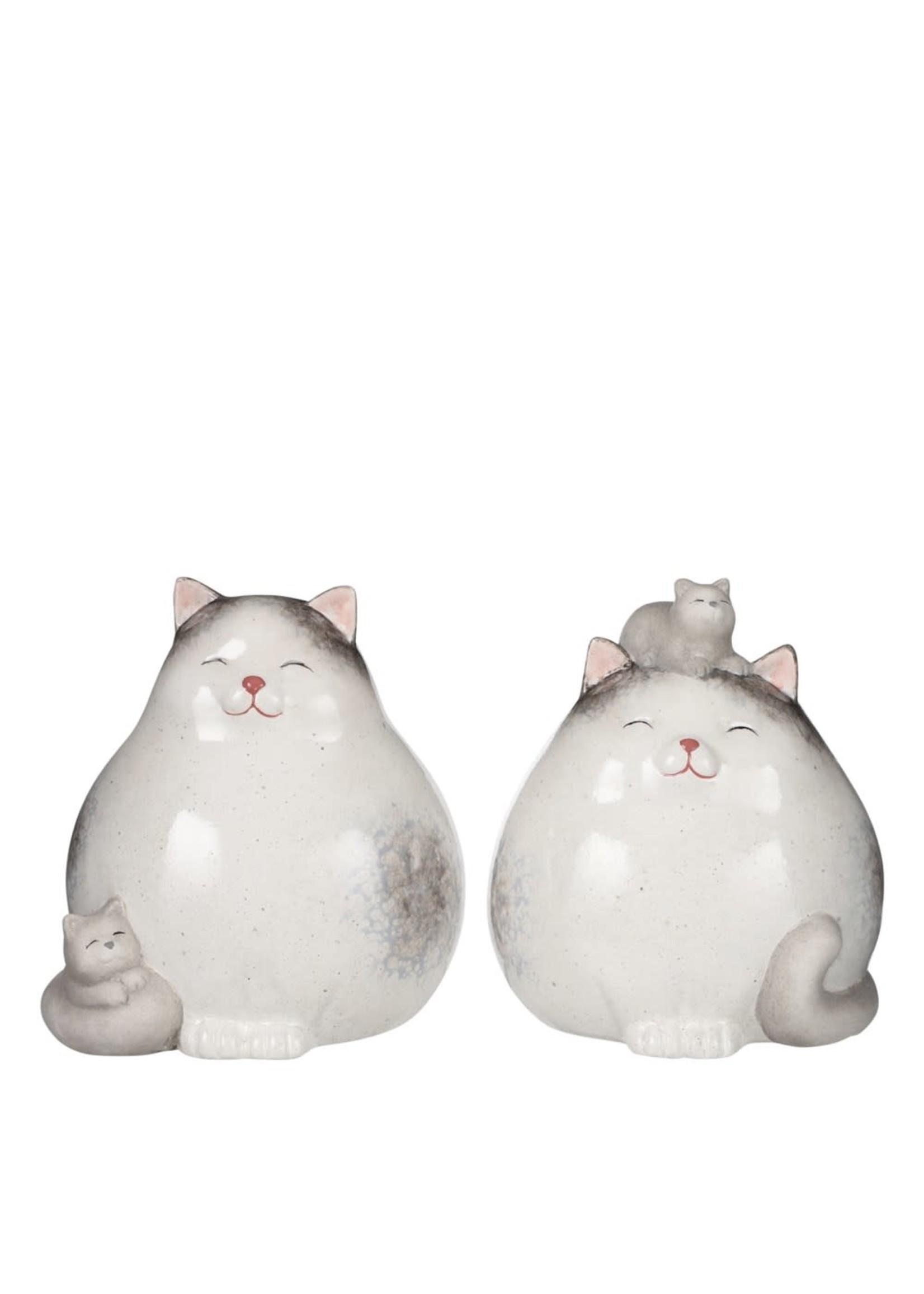 """Ceramic Cat - 5""""- 2 styles"""