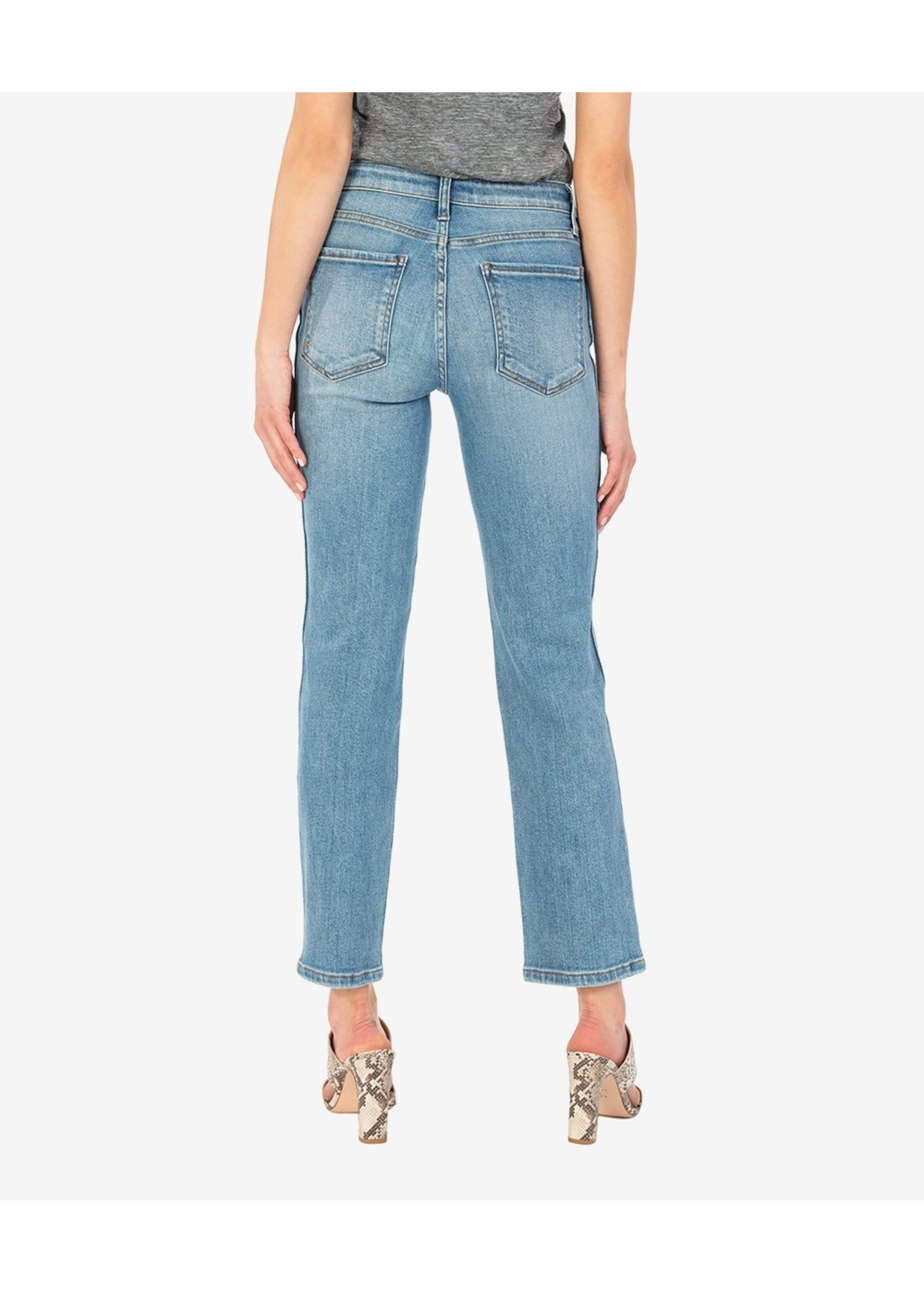 KUT From The Kloth Elizabeth High Rise Fab Ab Ankle Straight