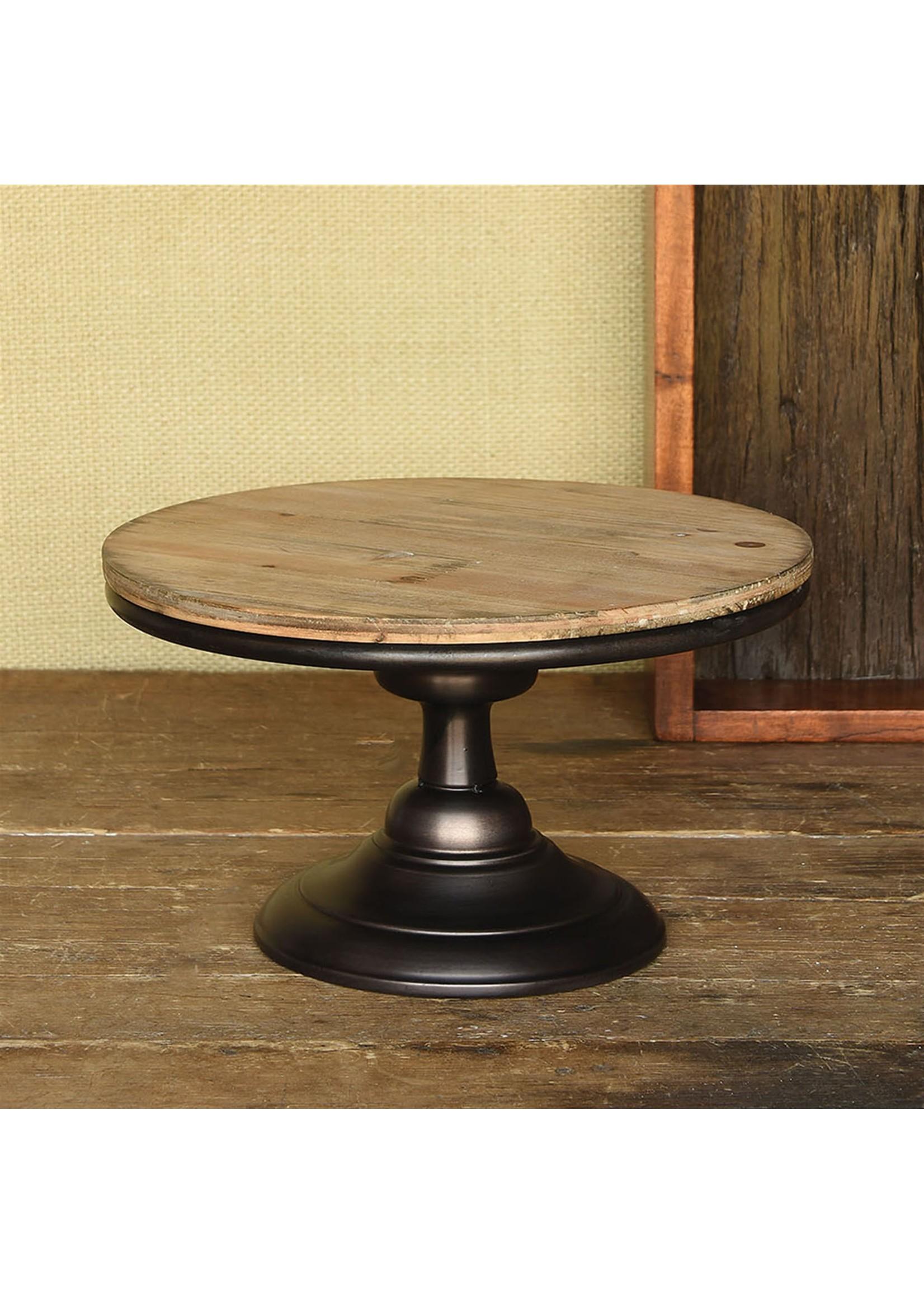 HomArt Wood and Metal Pedestal