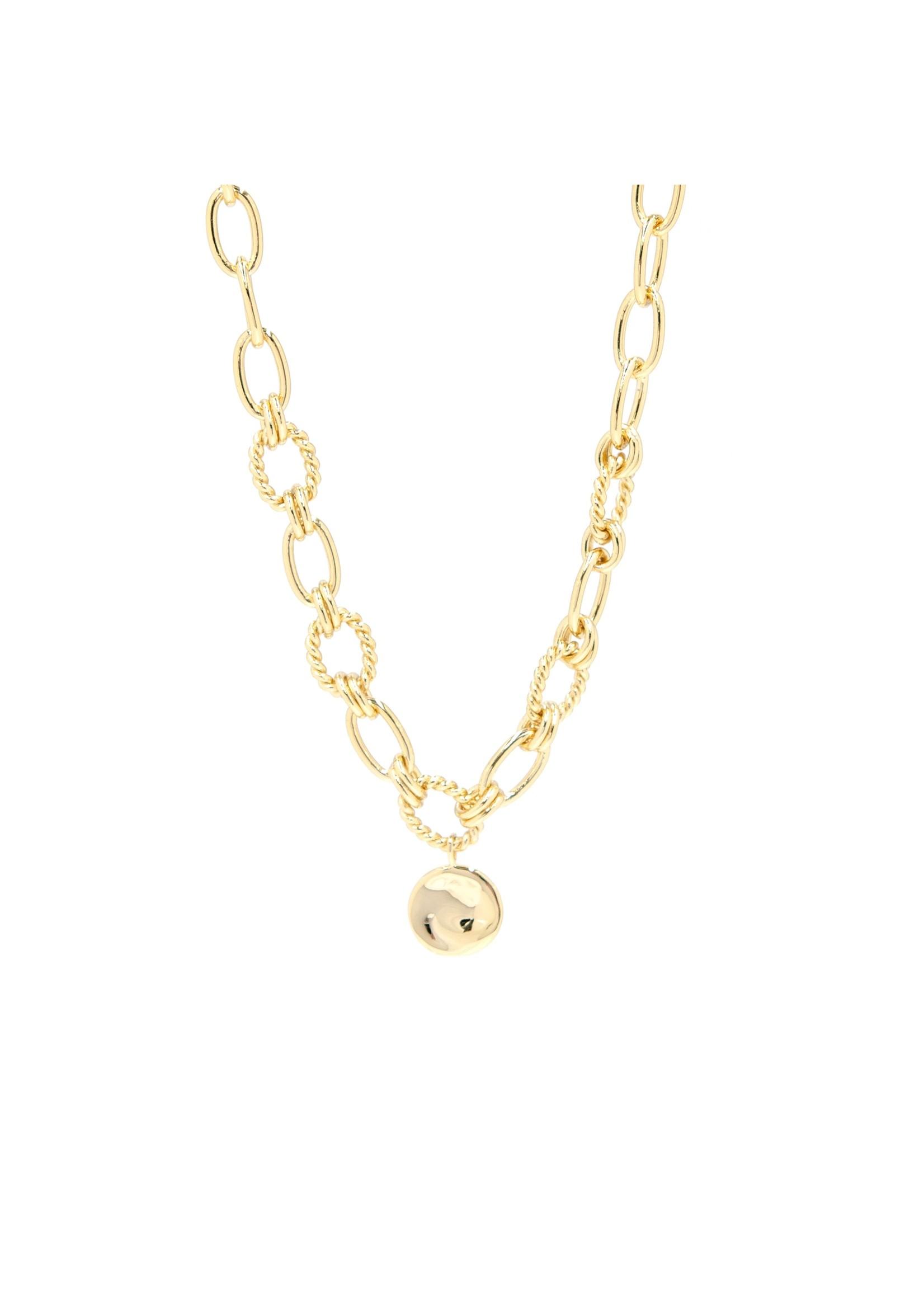 Eliasz and Ella Vivid Gold Necklace