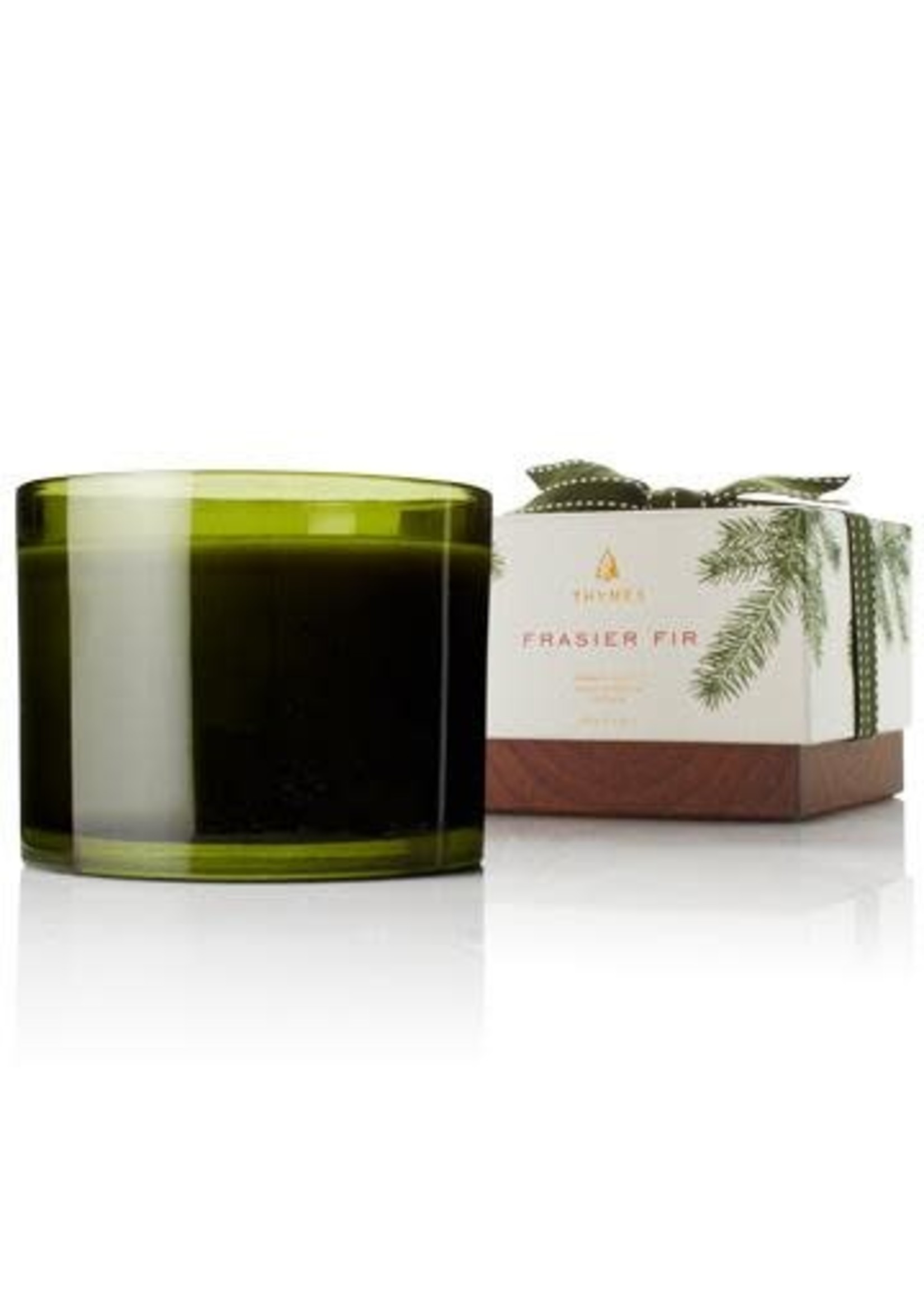 Thymes Frasier Fir Poured Candle - 3 wick