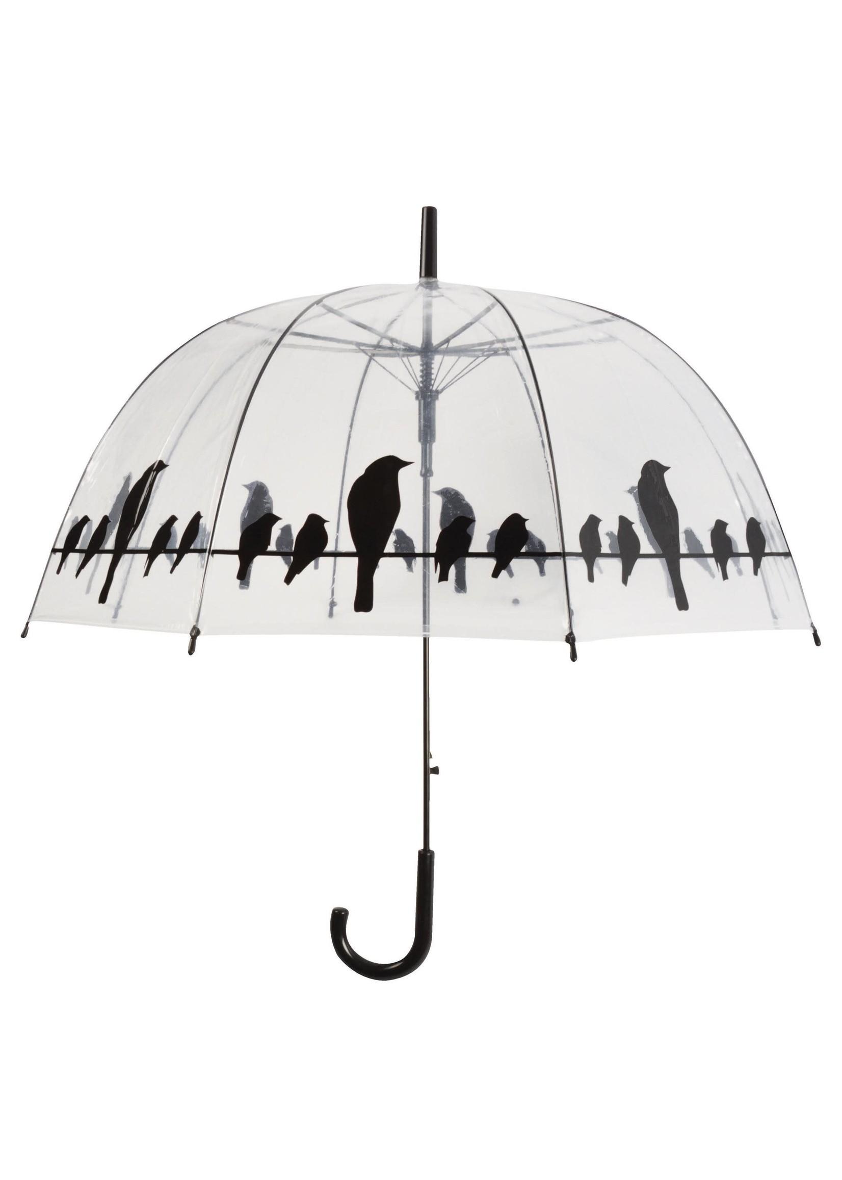Transparent Birds Umbrella
