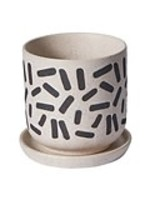 """hofland Sundae Pot - 5.75"""" with saucer"""