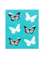 Butterfly Swedish Dishcloths s/2