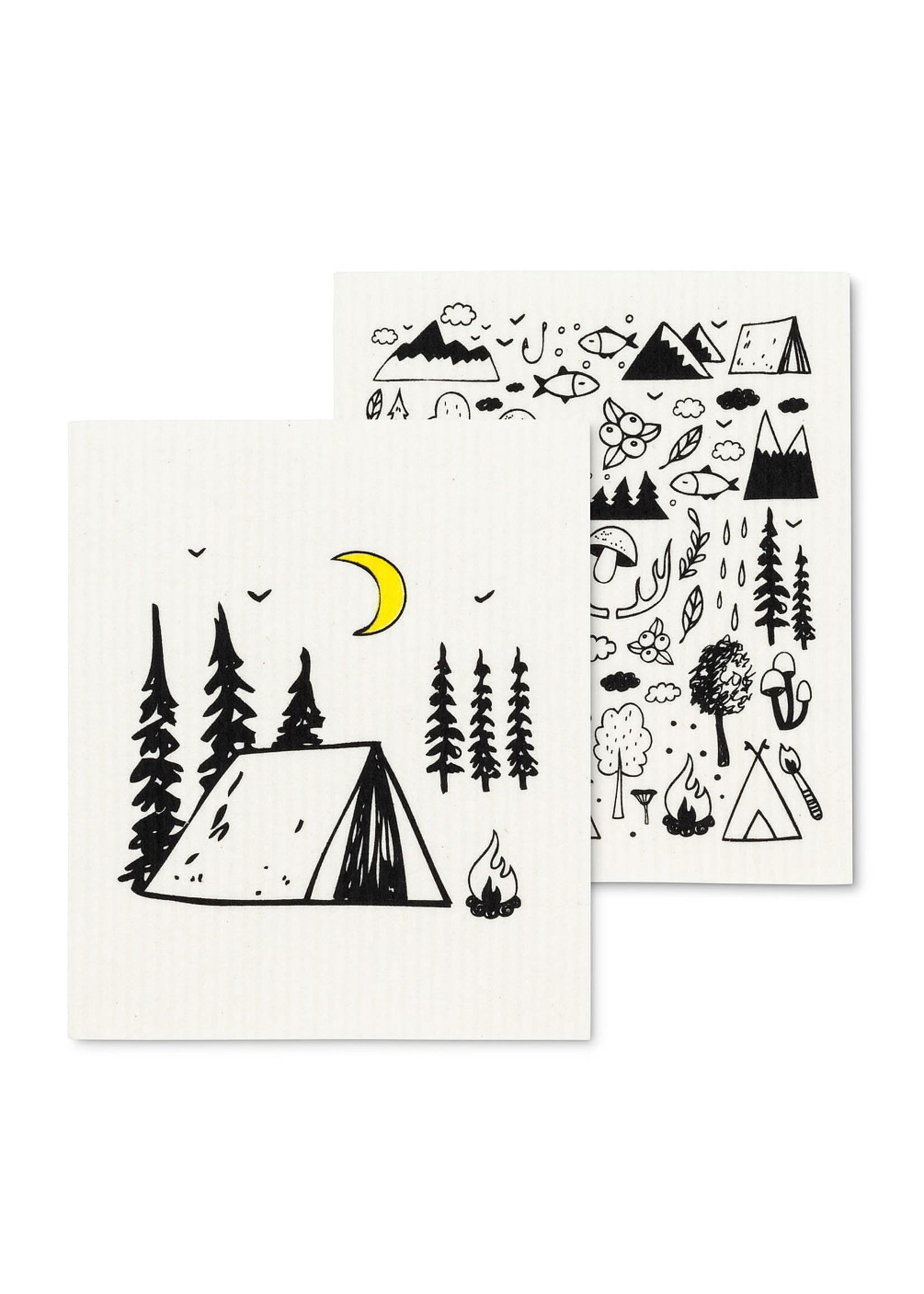 Camping Dishcloth s/2