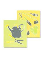 Garden Tools Dishcloth s/2