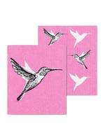 Hummingbird Swedish Dishcloth s/2