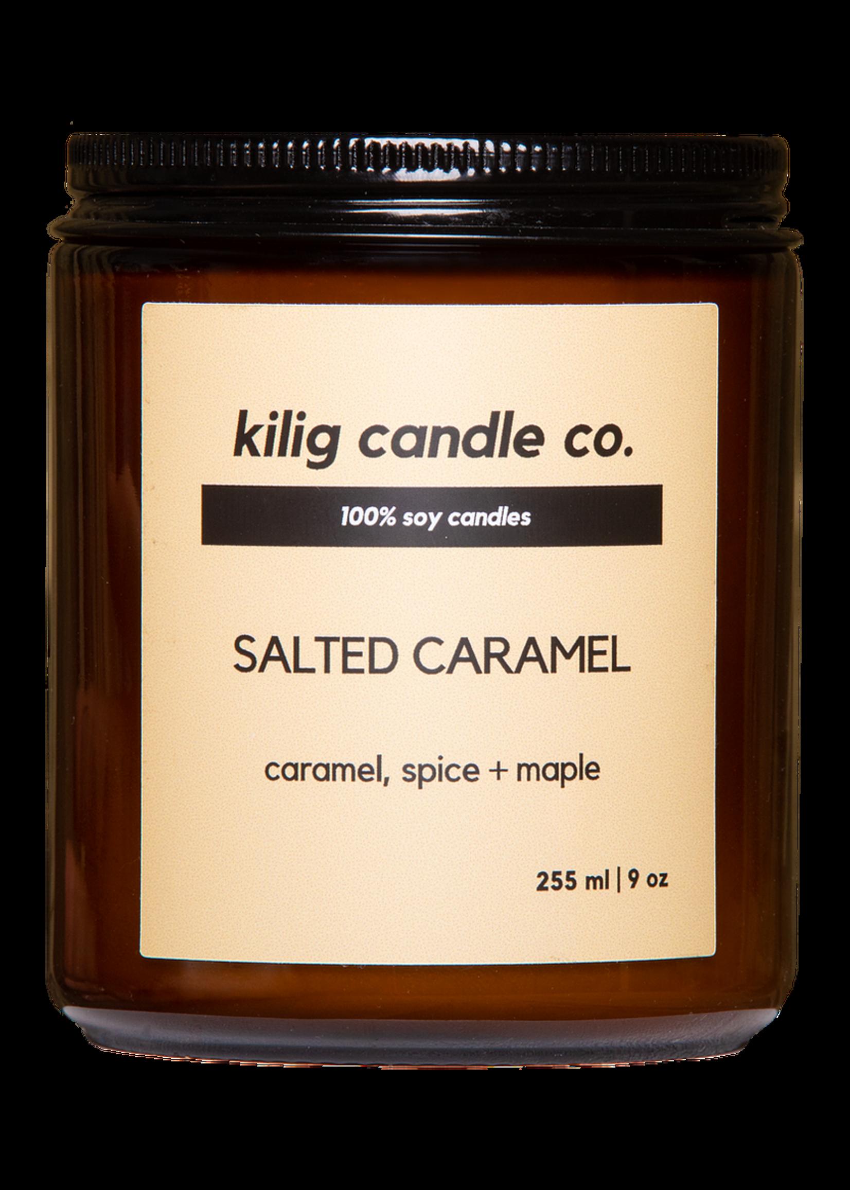 Kilig Candle Co. Salted Caramel