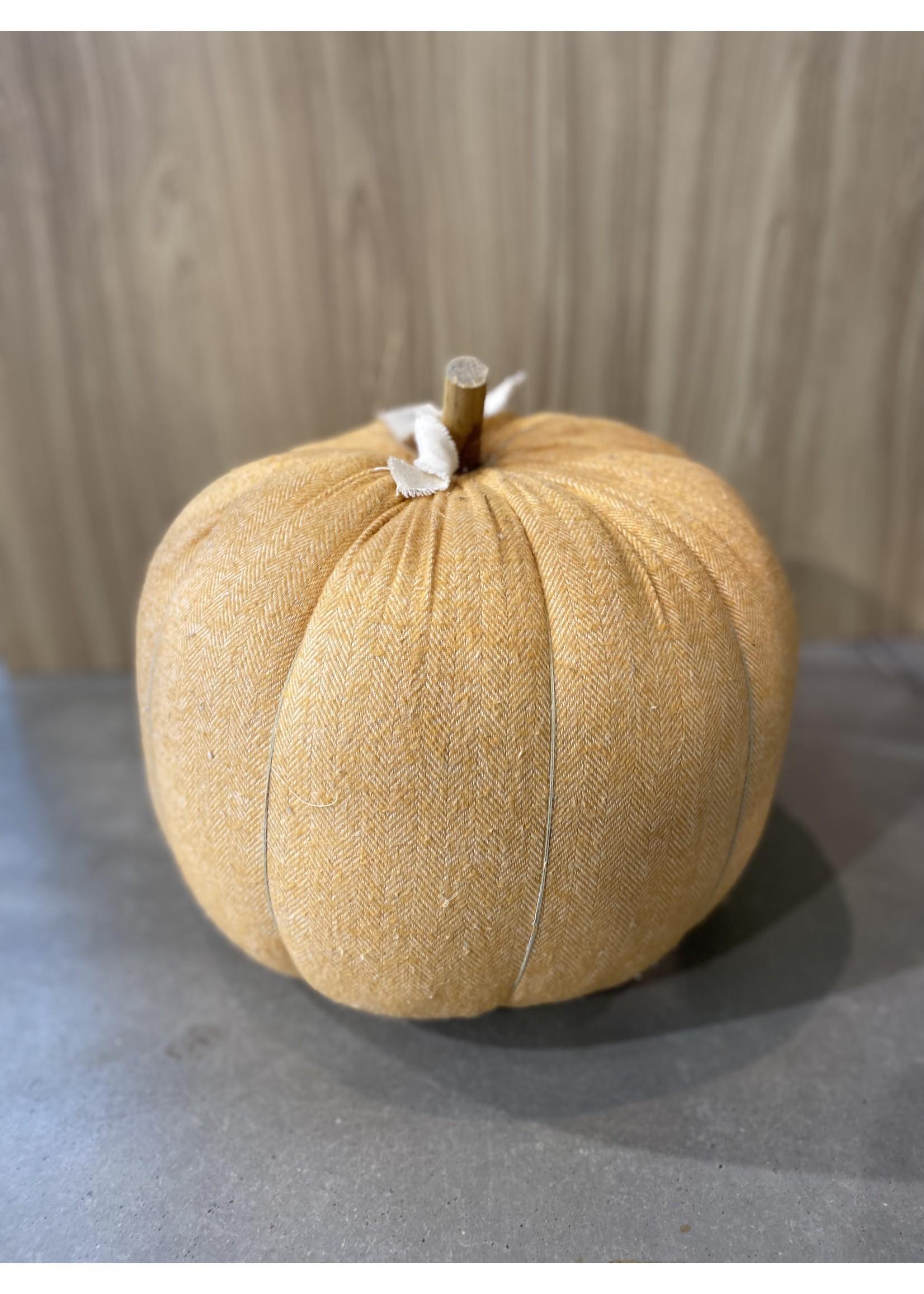Mud Pie Orange Pumpkin - Large