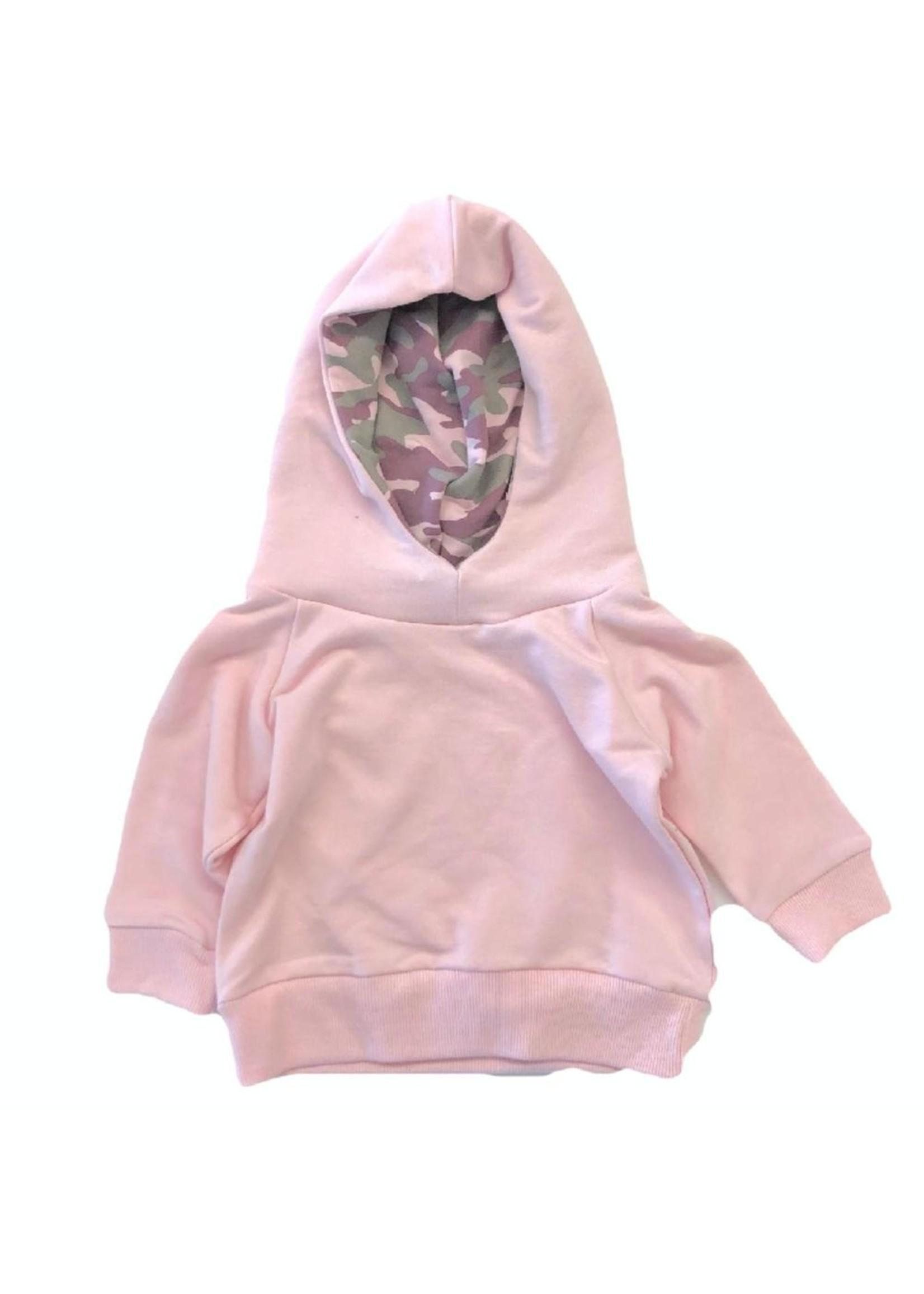 Portage and Main Pink Camo Hoodie - 6-12M