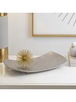 Torre & Tagus Clara Embossed Mandala Platter