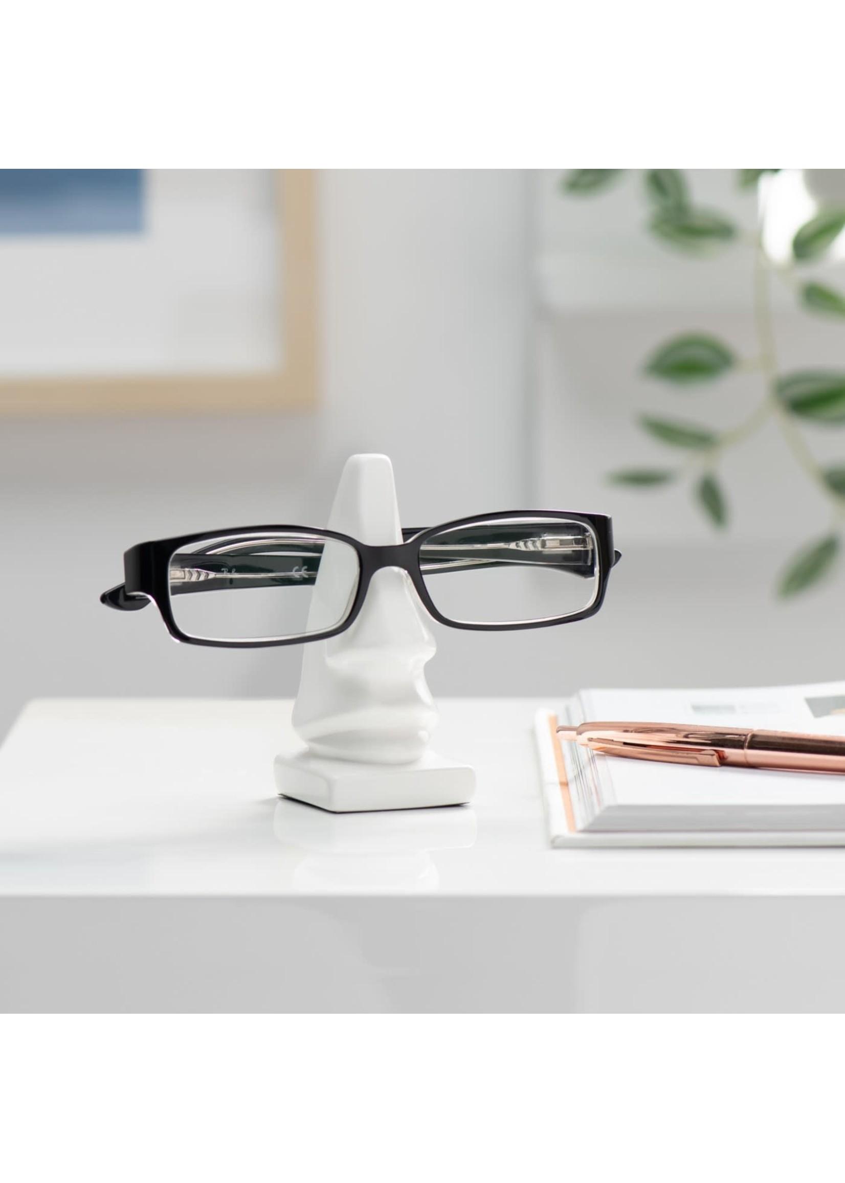 Torre & Tagus Leon Nose Eyeglass Holder - White