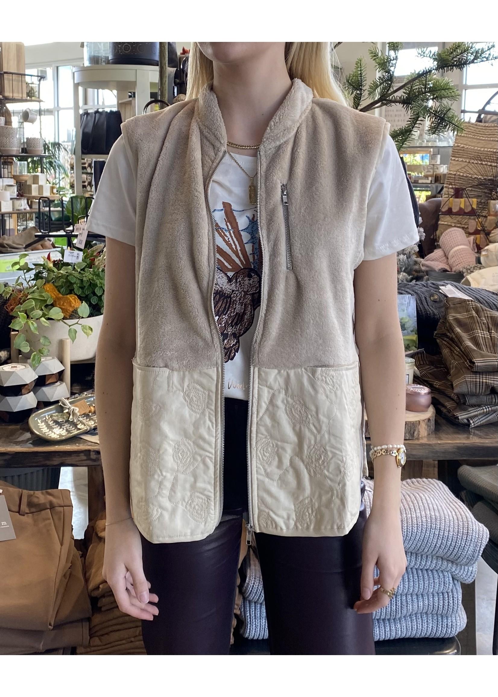 Cream Rina Waistcoat