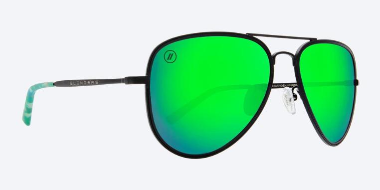 Blenders Eyewear STAR VIXEN GUNMETAL / BLUE GREEN A SERIES
