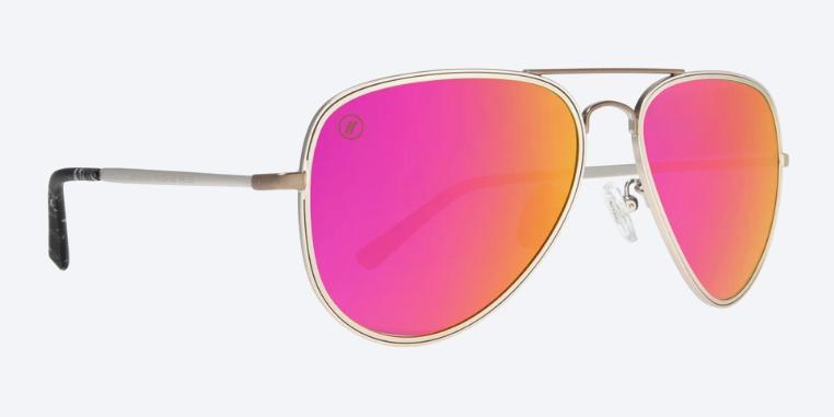 Blenders Eyewear SEDONA SUNSET SILVER / PINK A SERIES