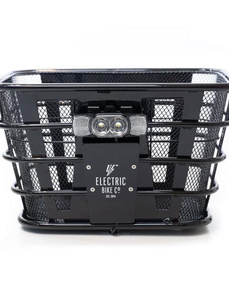 Front Basket Black